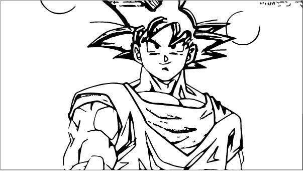 Goku We Coloring Page 452