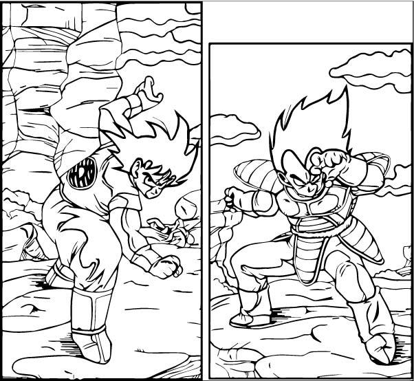 Goku We Coloring Page 453