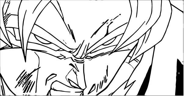 Goku We Coloring Page 454