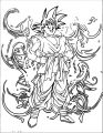 Goku We Coloring Page 455