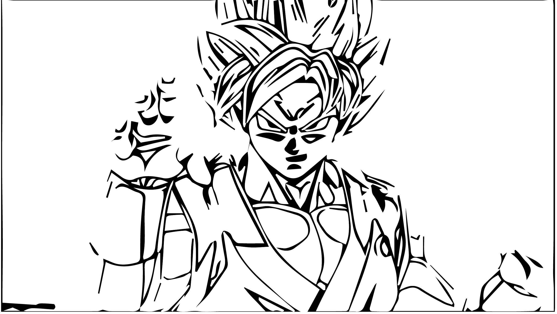 Goku We Coloring Page 458