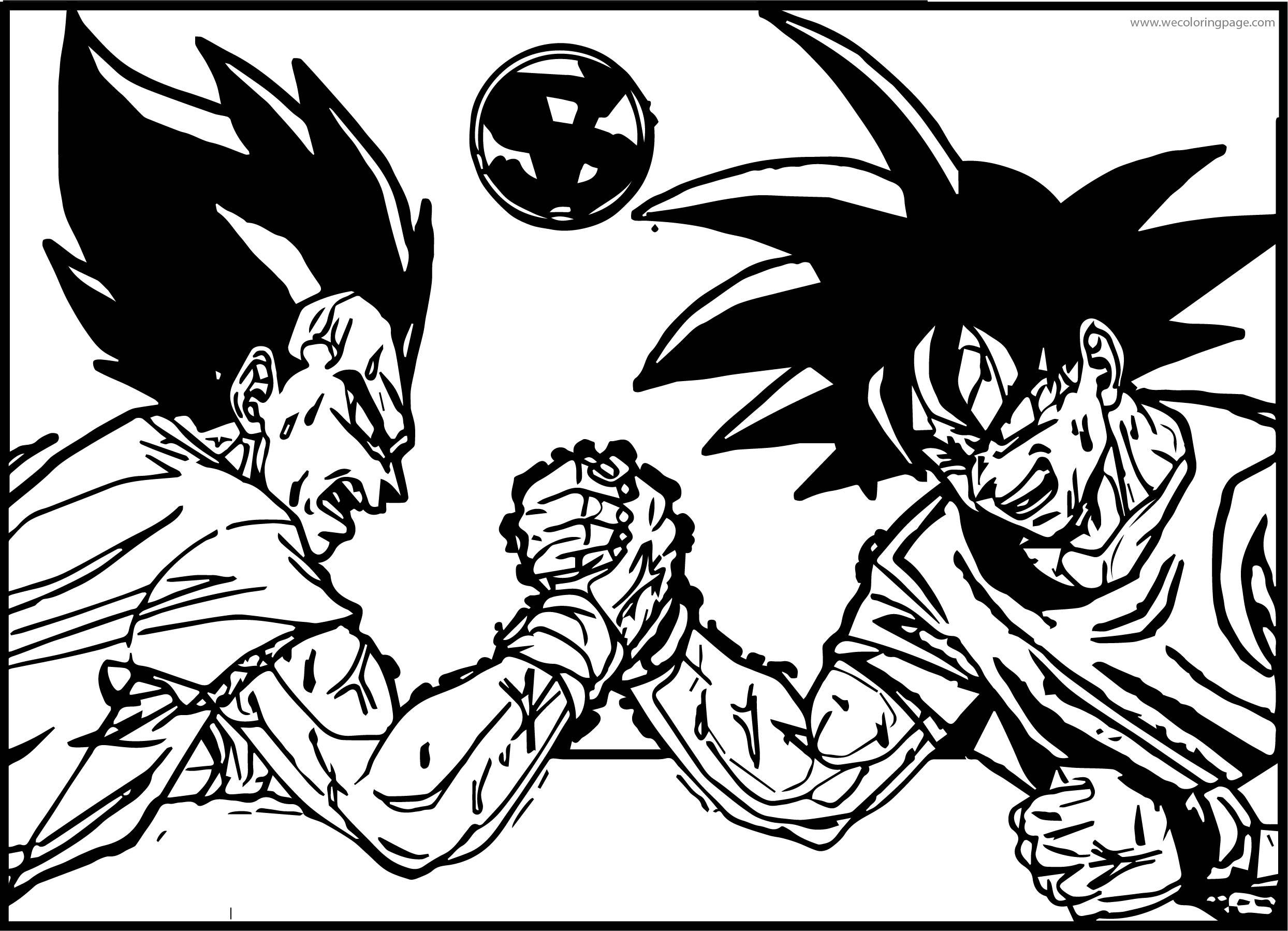 Goku We Coloring Page 461