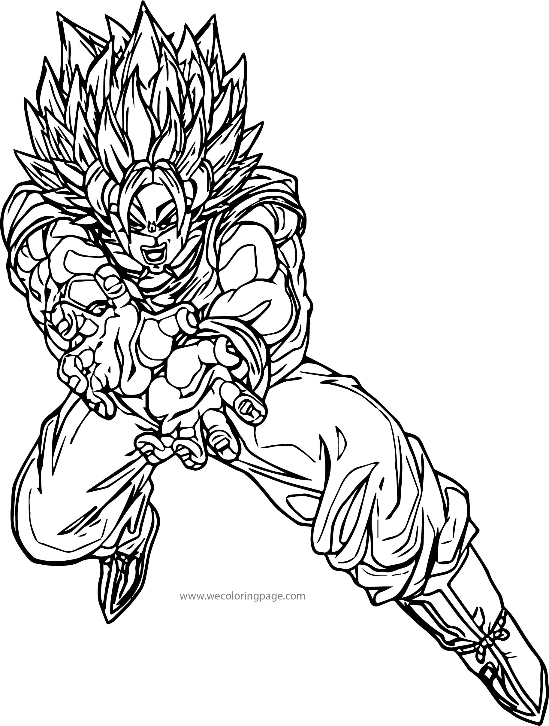 Goku We Coloring Page 462