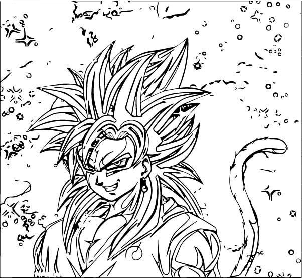 Goku We Coloring Page 464