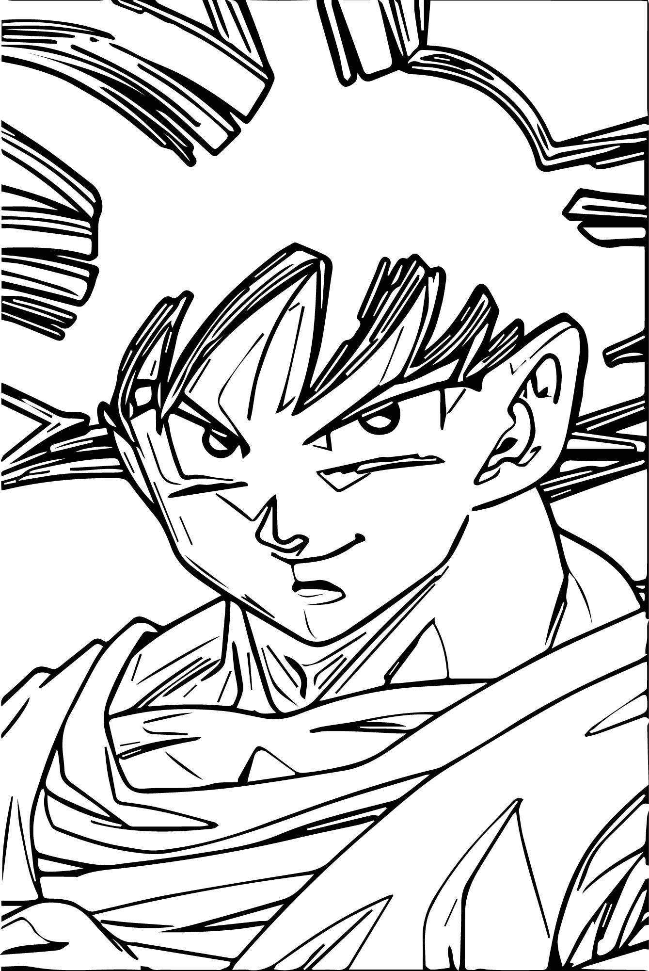 Goku We Coloring Page 465