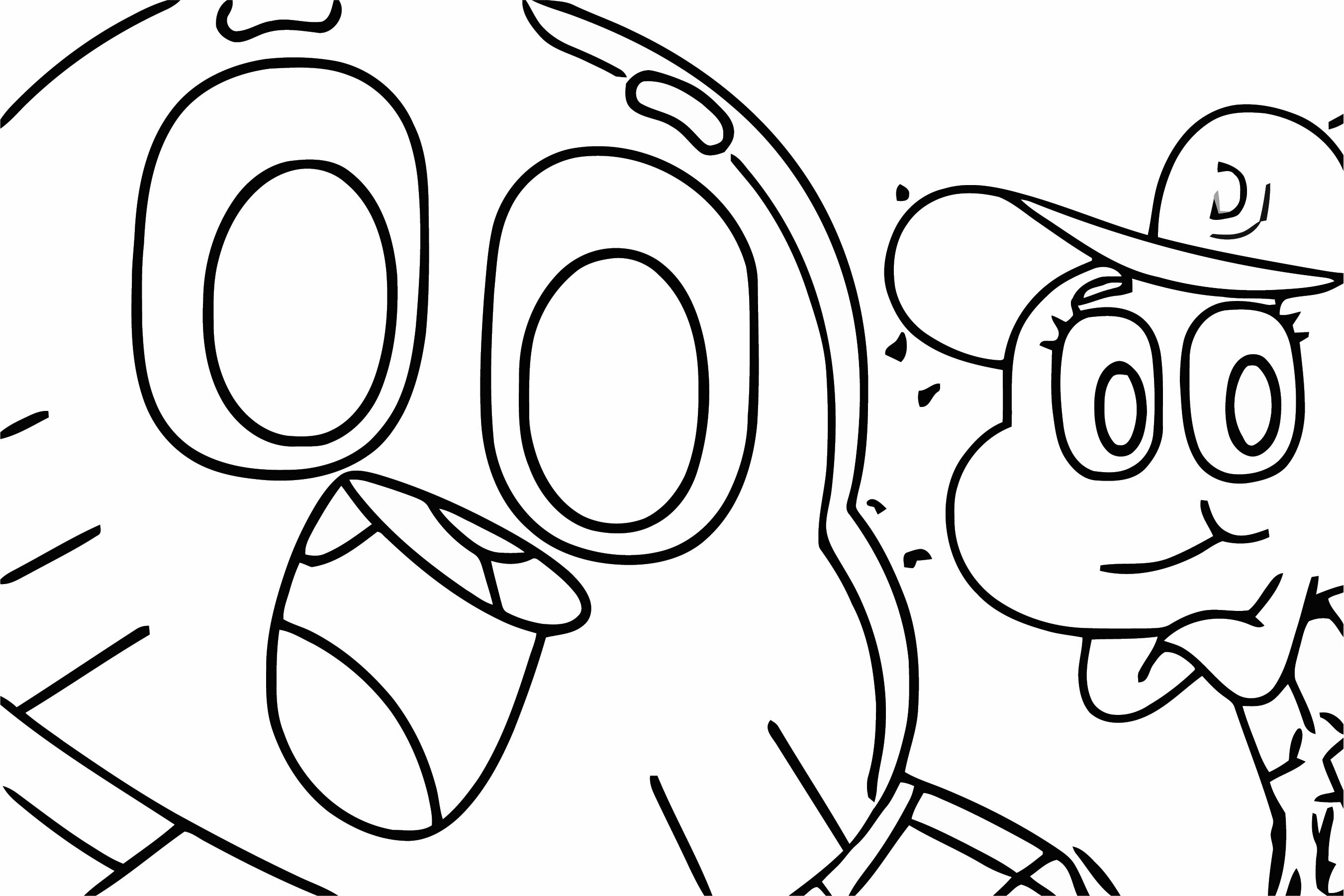 Gumball Darwin Selfie Photo Coloring Page