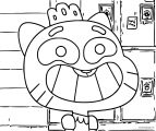 Gumball Princess Coloring page