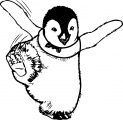 Happy Feet Coloring Pages 01