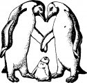 Happy Feet Coloring Pages 05