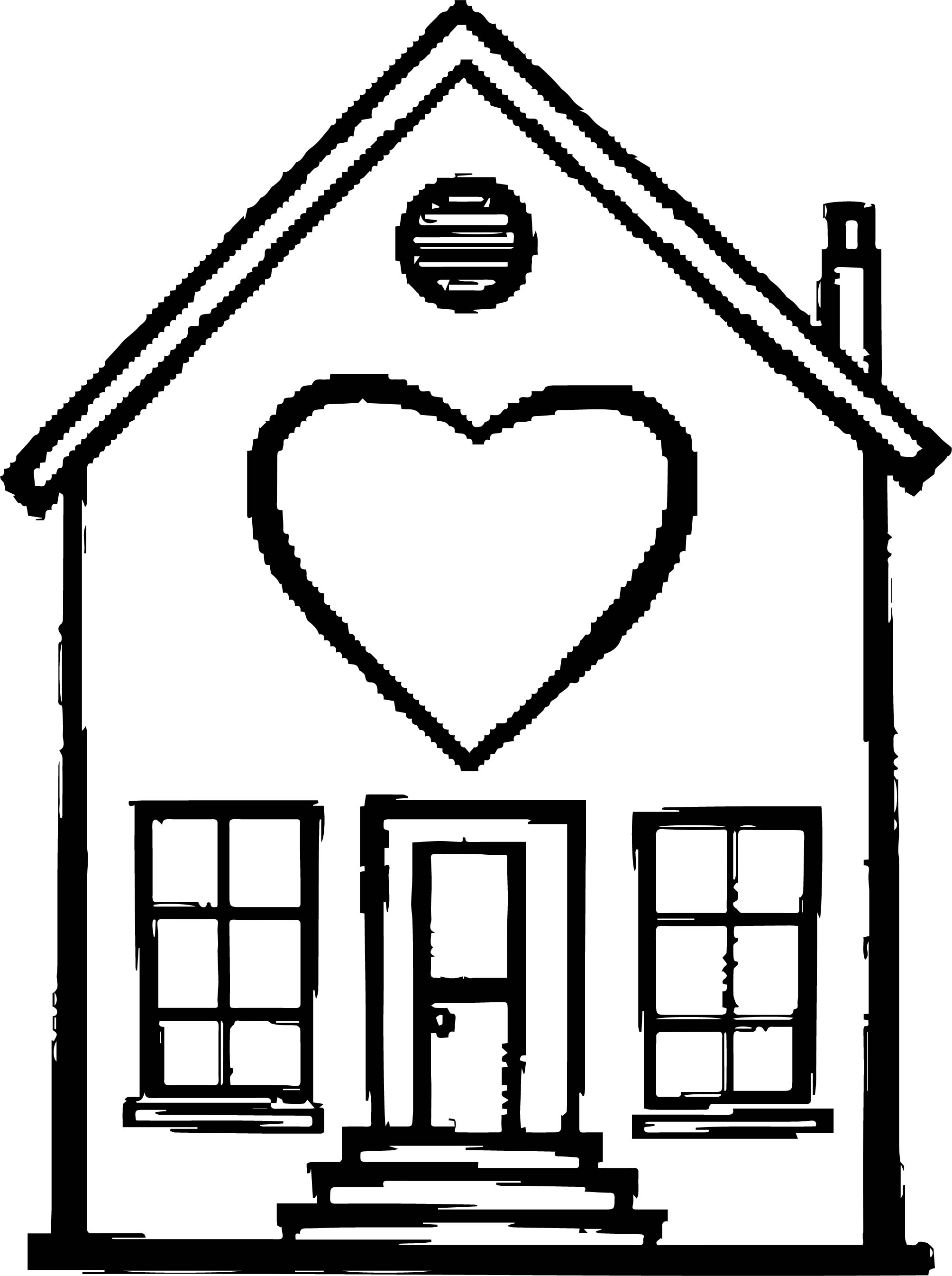Home Best Heart Coloring Page