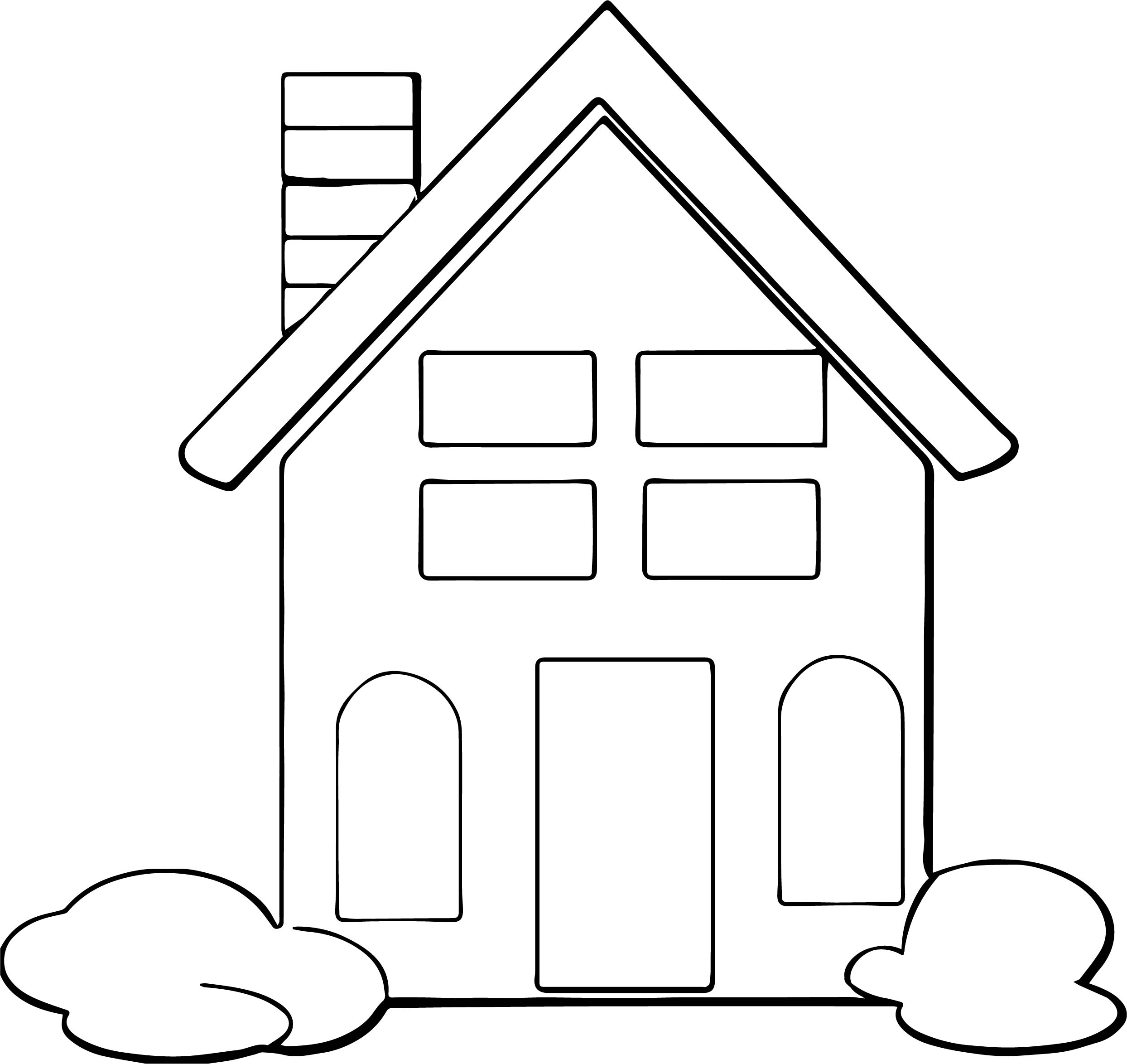 House Coloring Page 17