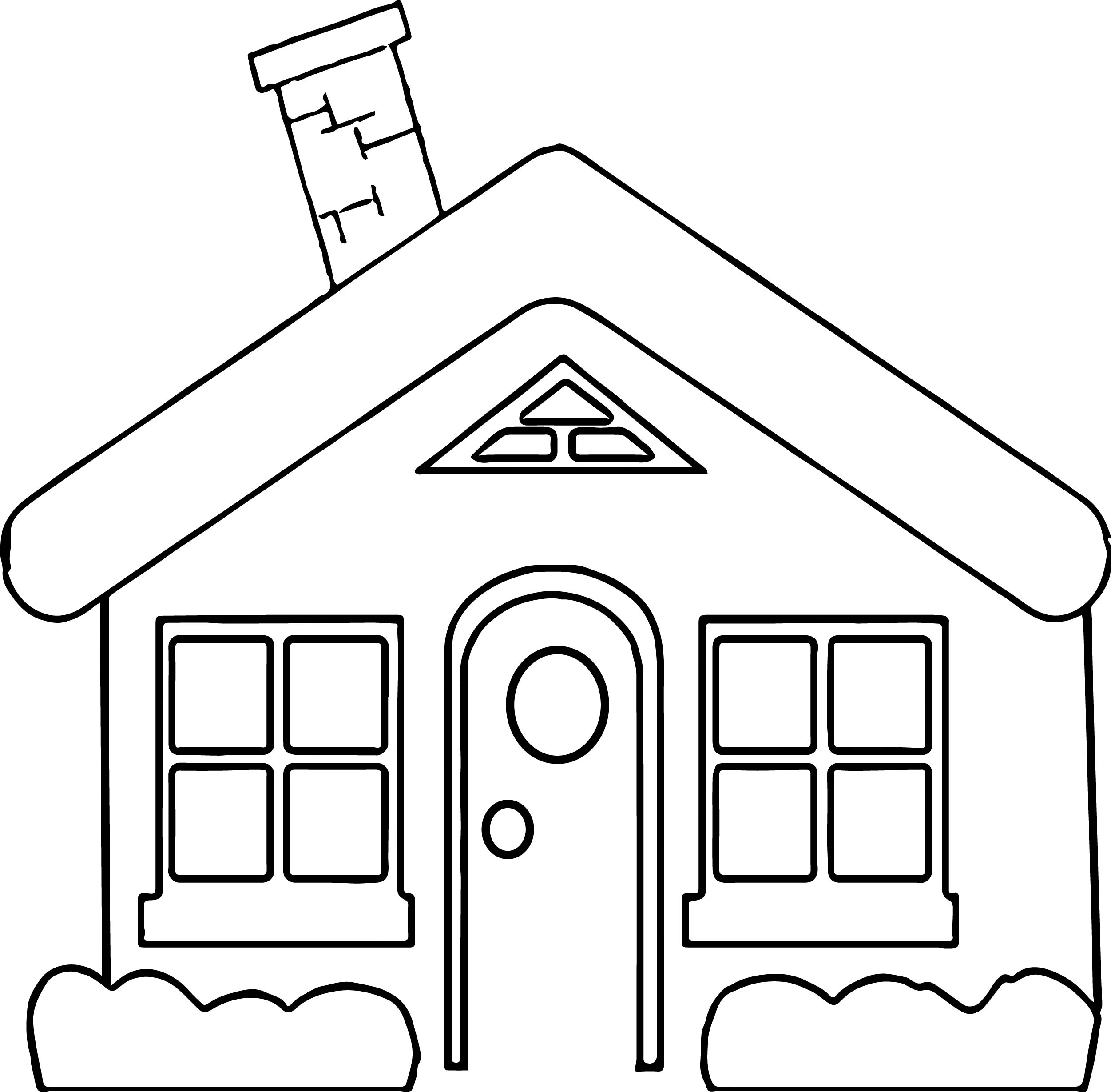 House Coloring Page 18