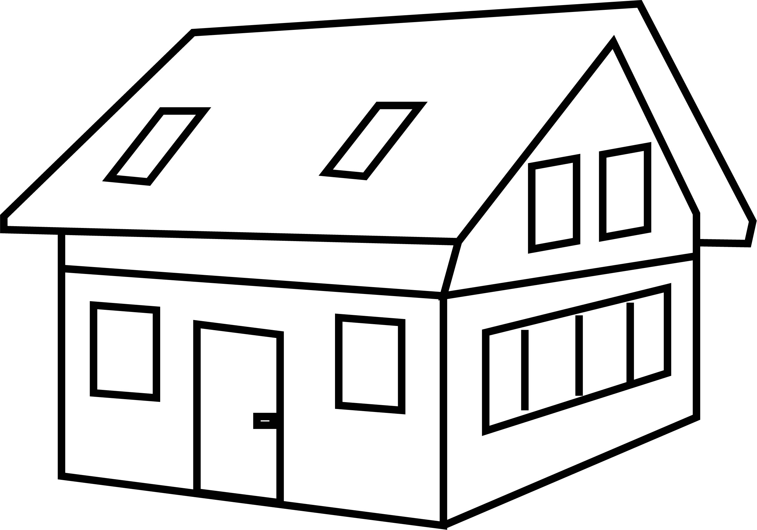 House Coloring Page 37