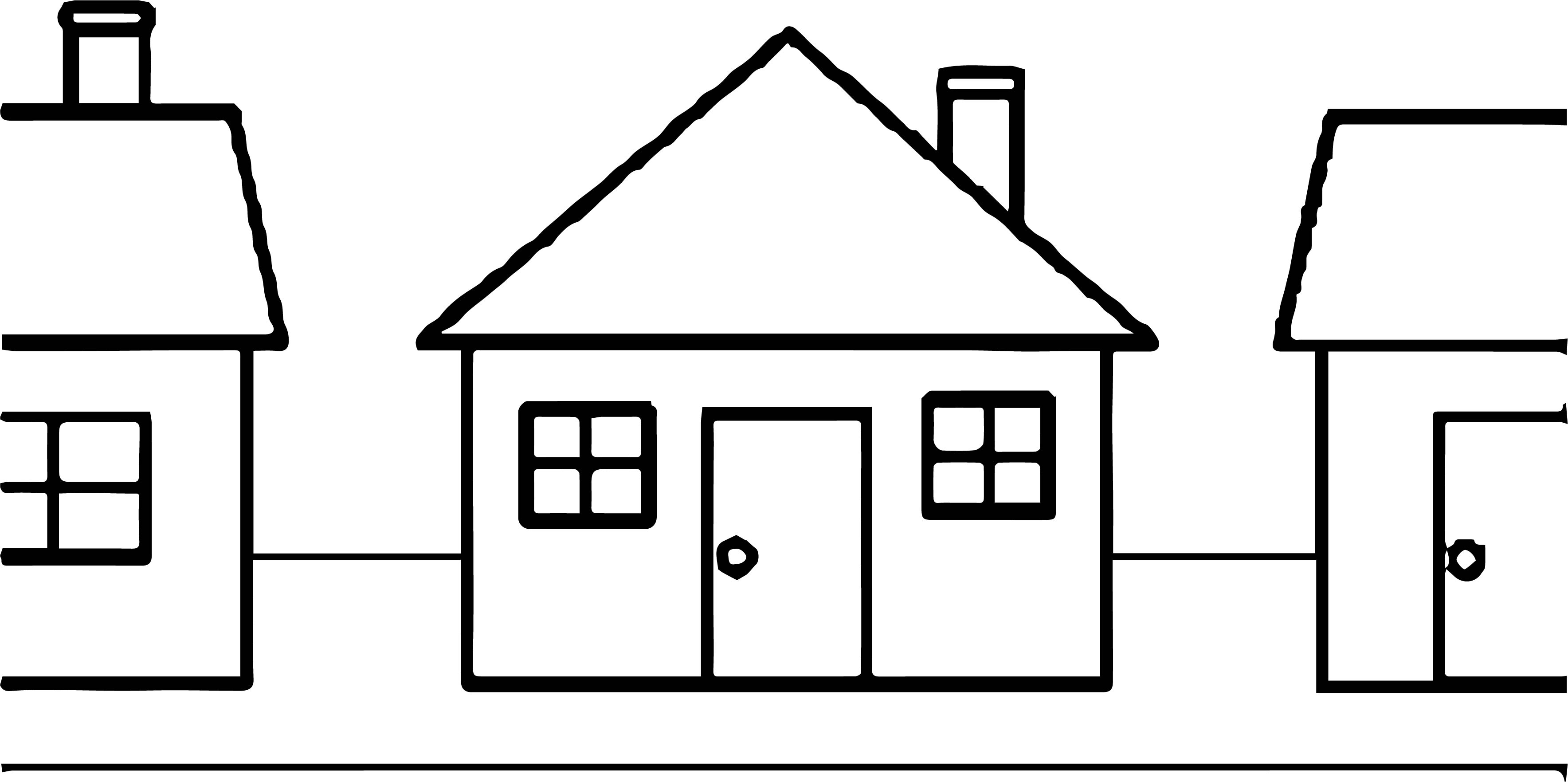 House Coloring Page 43