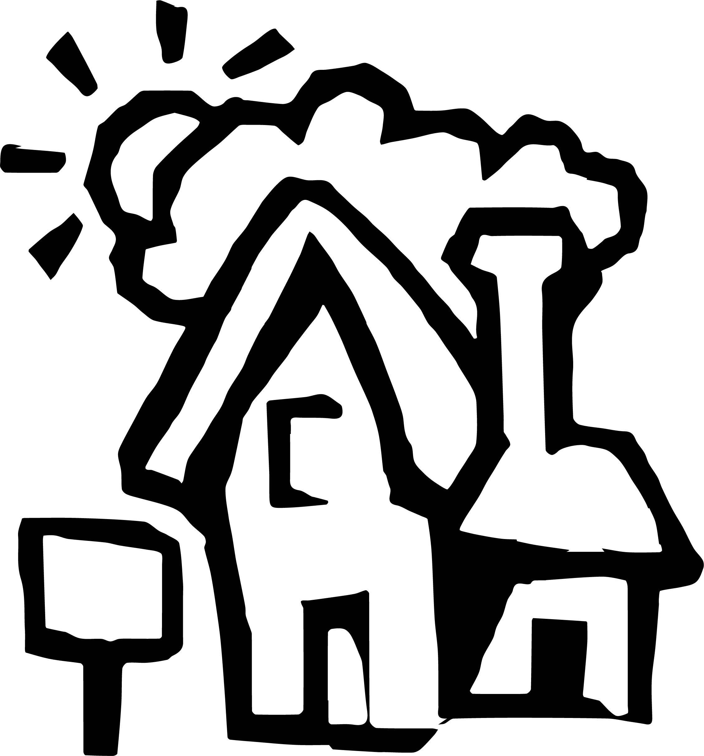 House Coloring Page 45