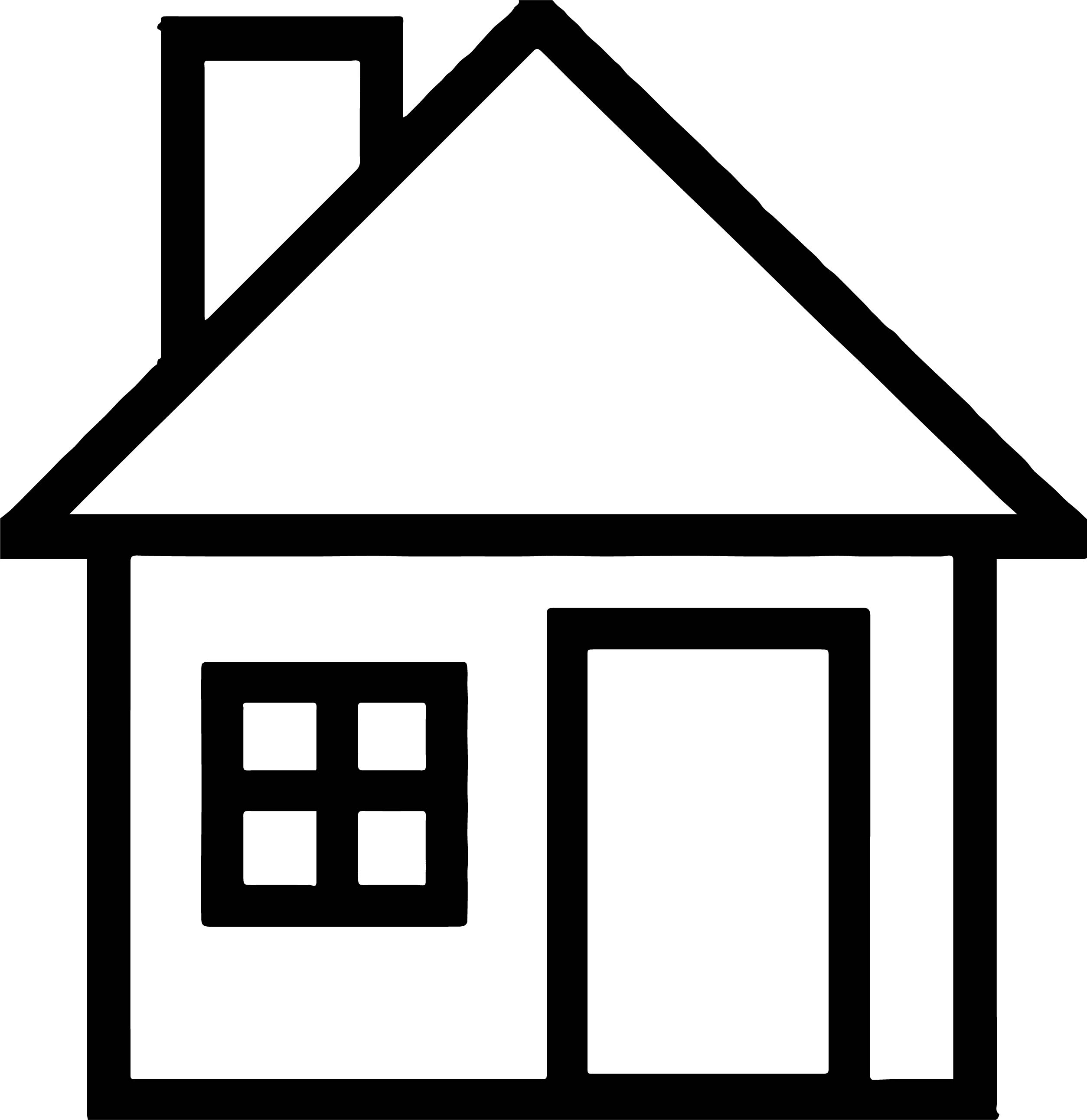 House Coloring Page 51
