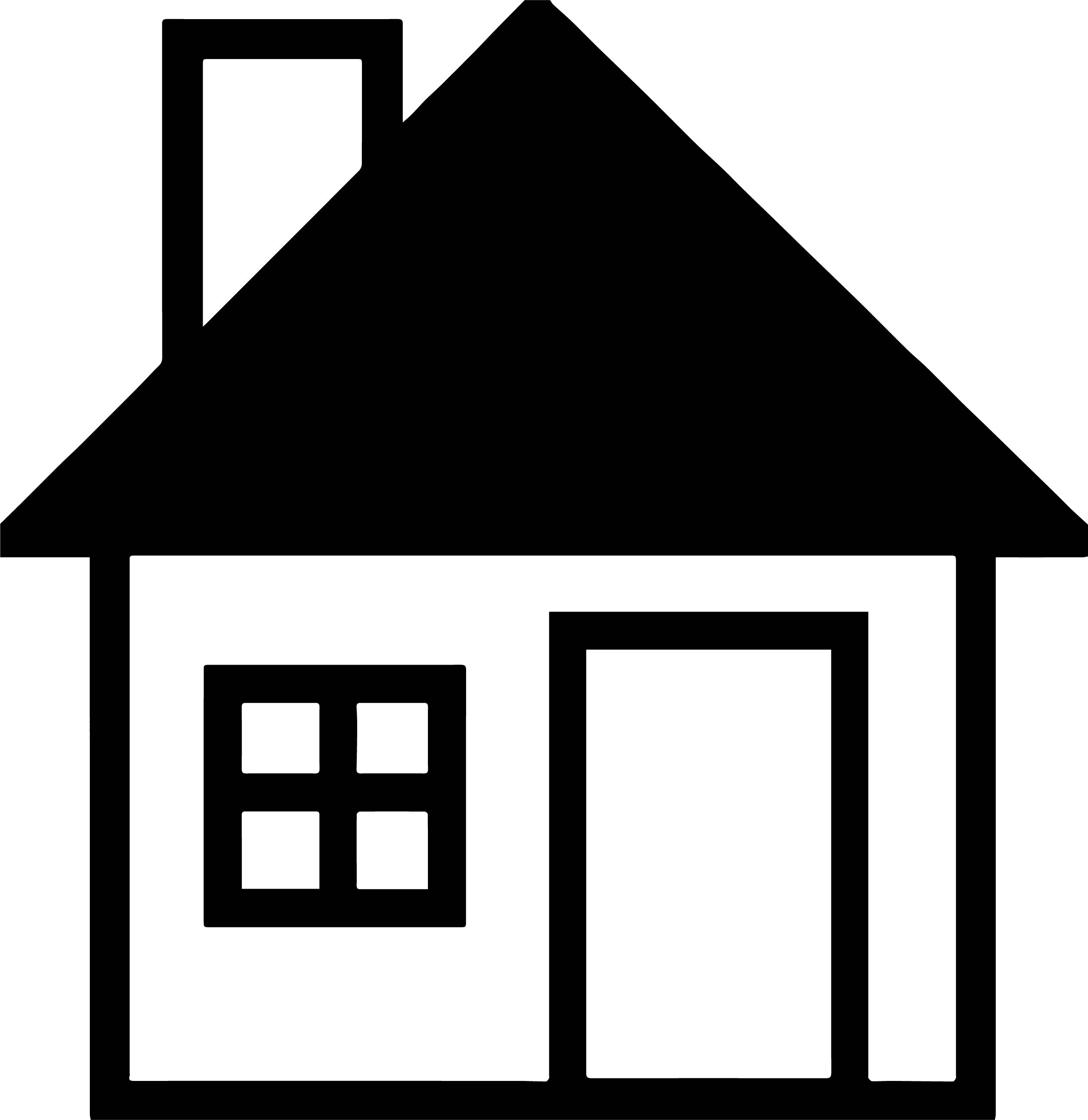 House Coloring Page 54