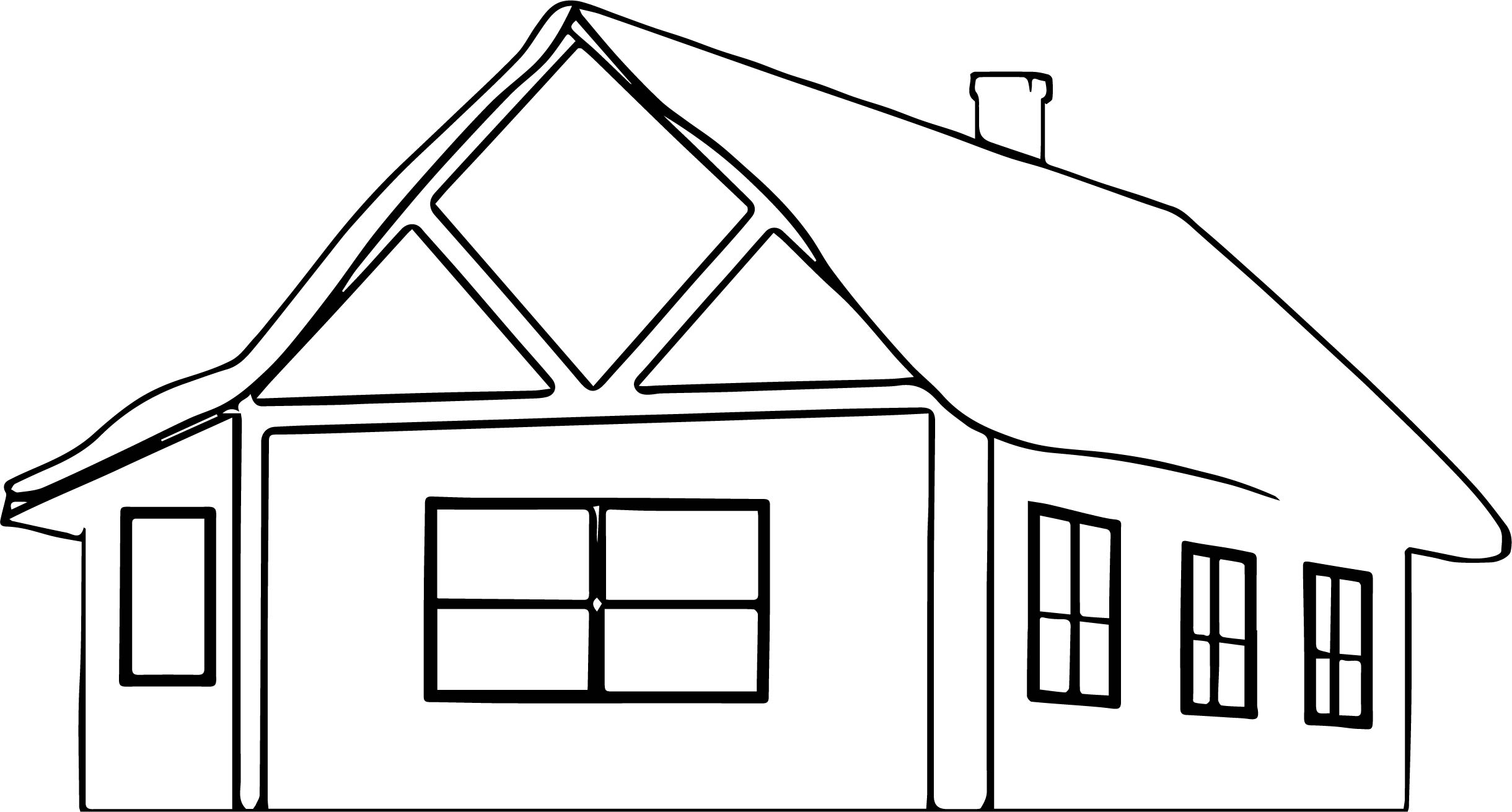 House Coloring Page 59