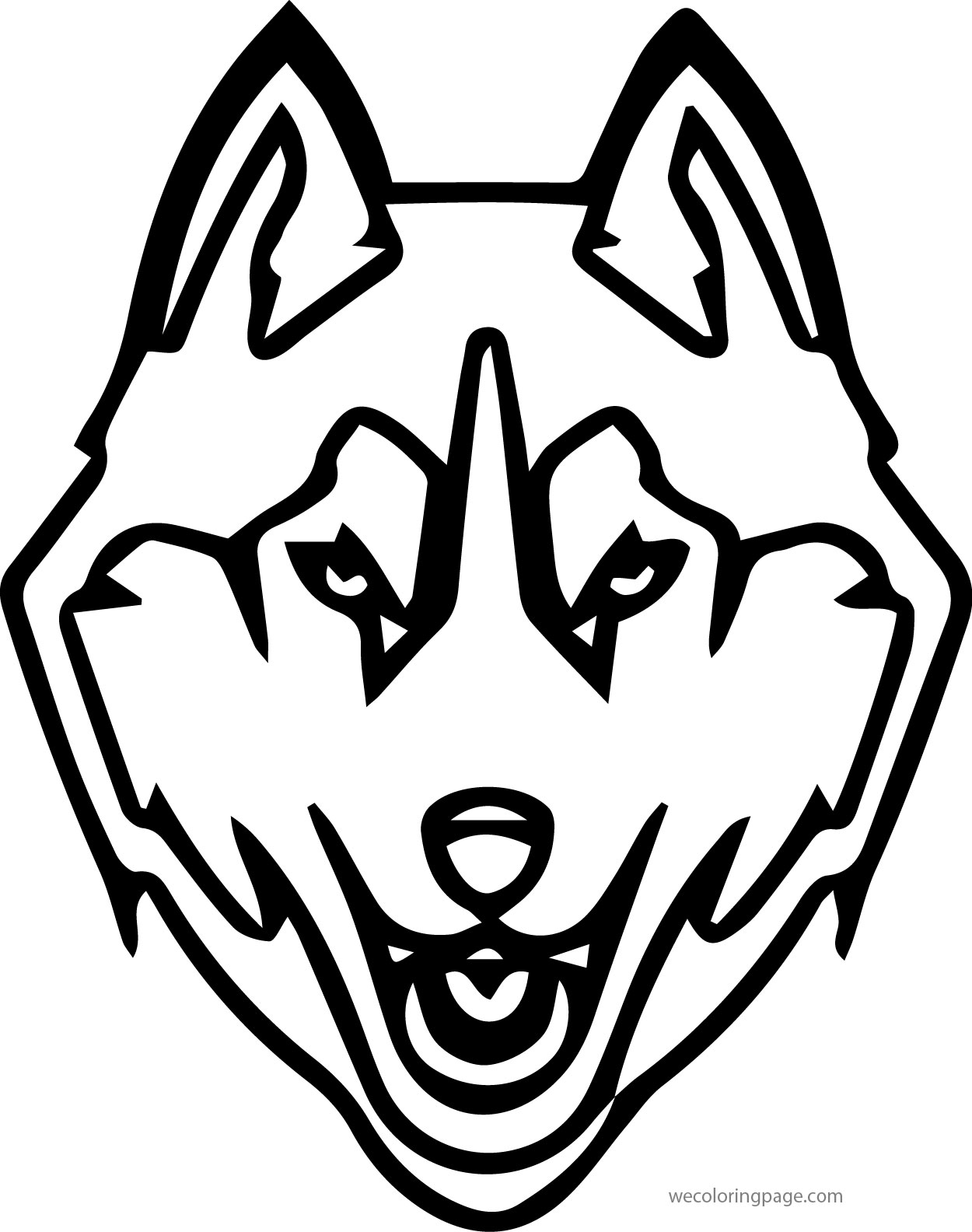 Husky 15 Coloring Page