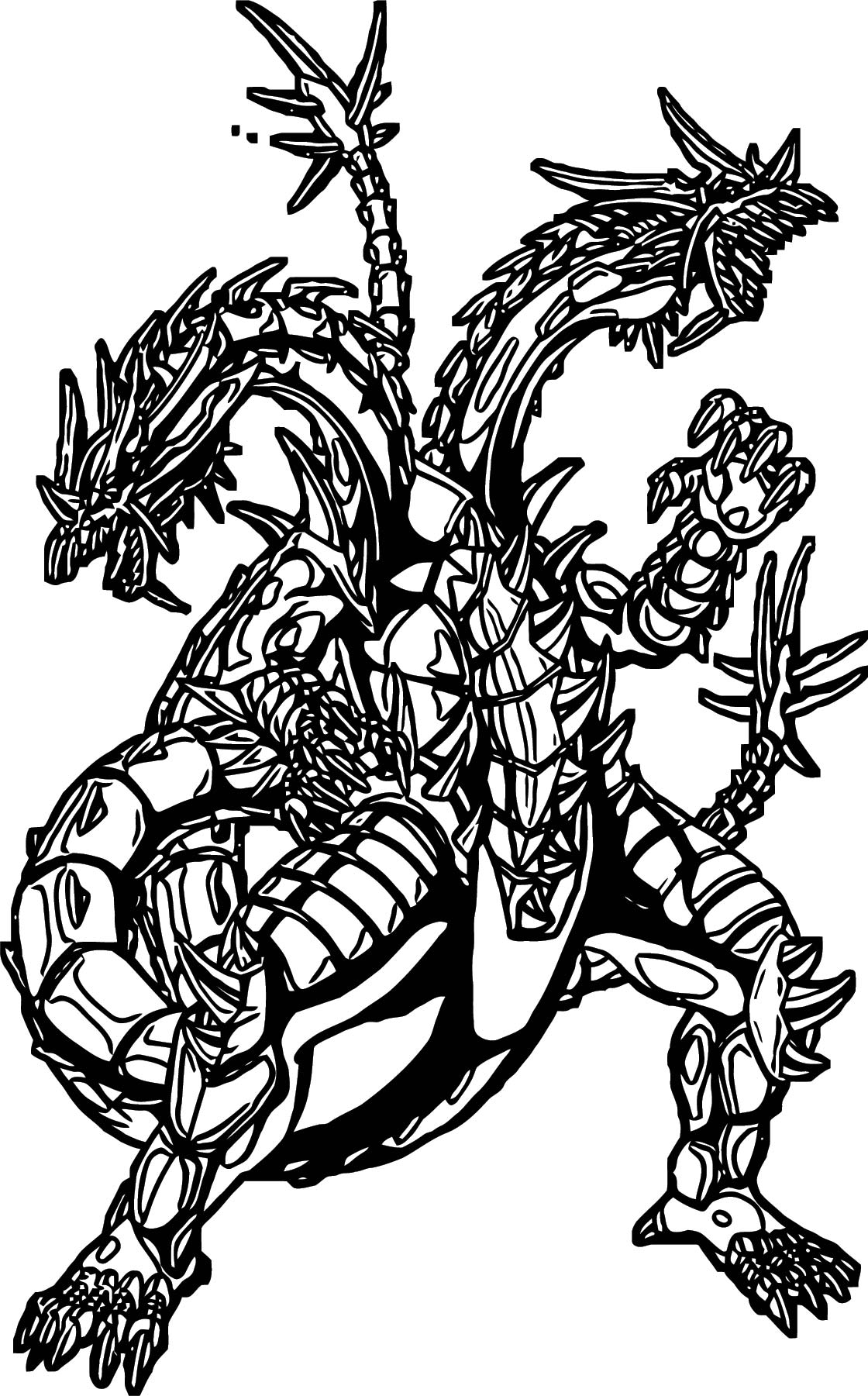 Hydranoid Double Coloring Page