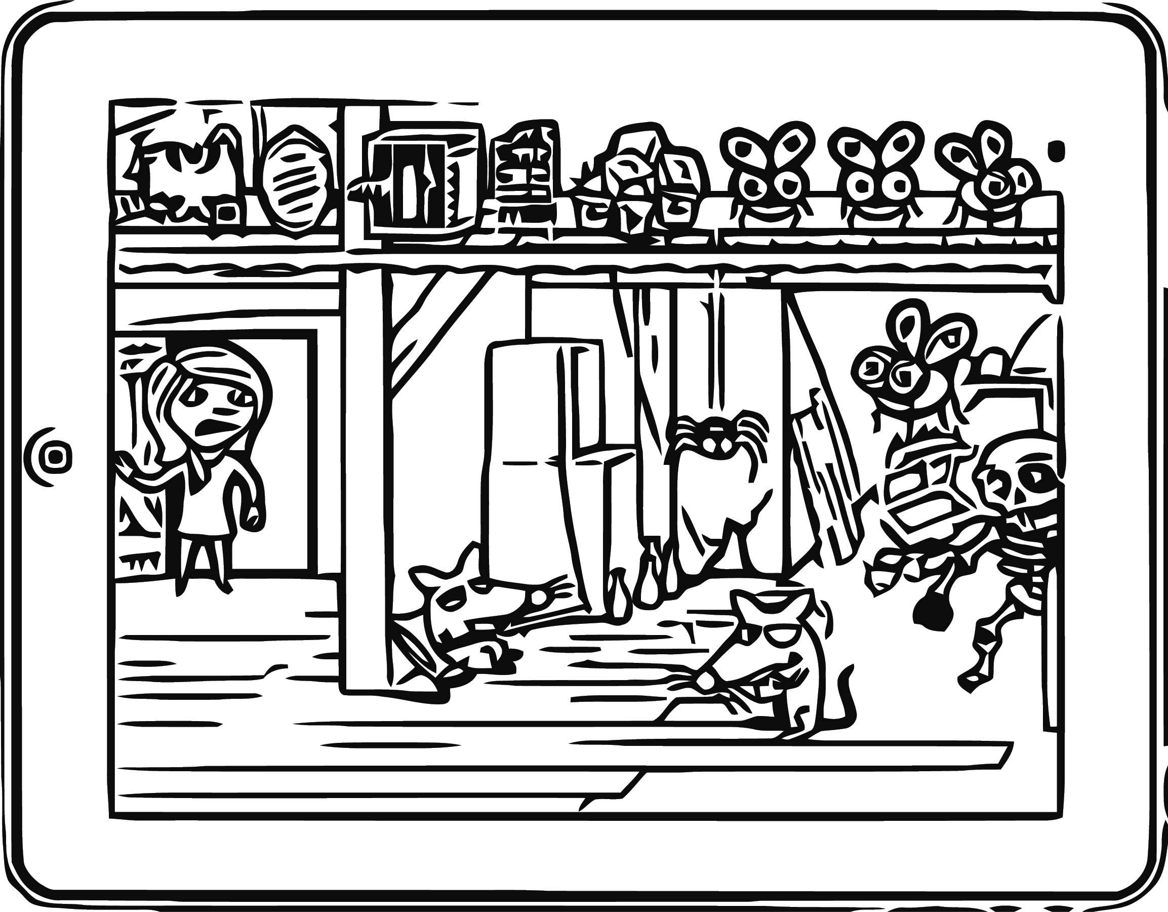 Ipad Jajdo3 Cartoonize Coloring Page