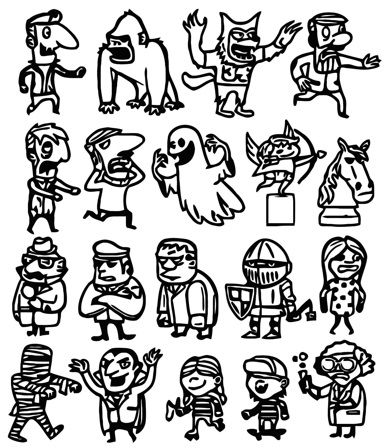 Jajdo Cartoonize Coloring Page