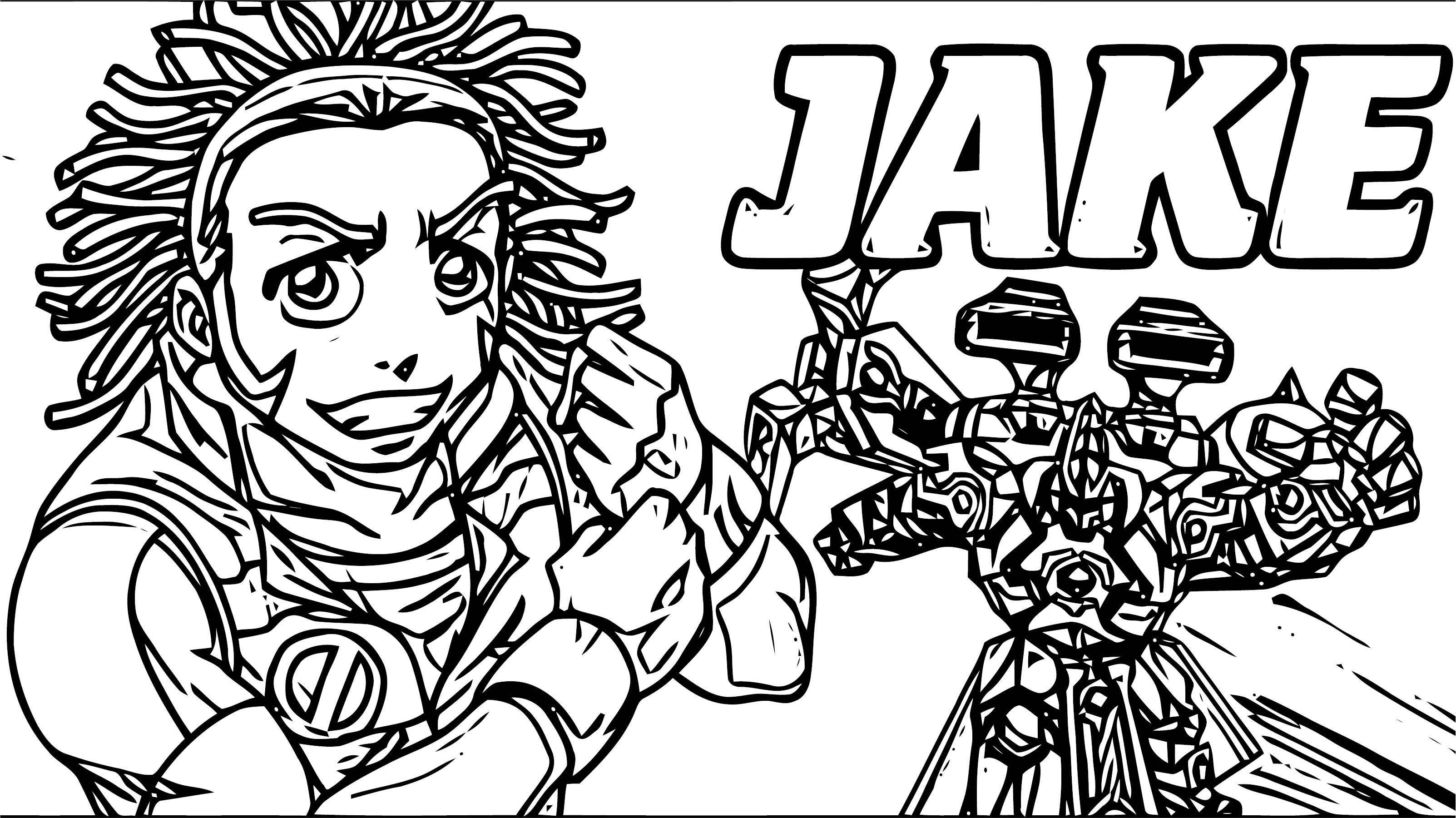 Jake Bakugan Gundalian Invaders Coloring Page ...