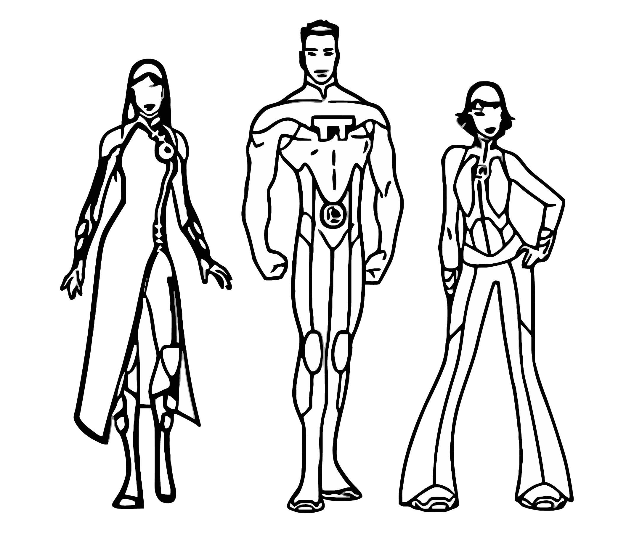 Lsh Character Design Portela D5cpaek Cartoonize Coloring Page