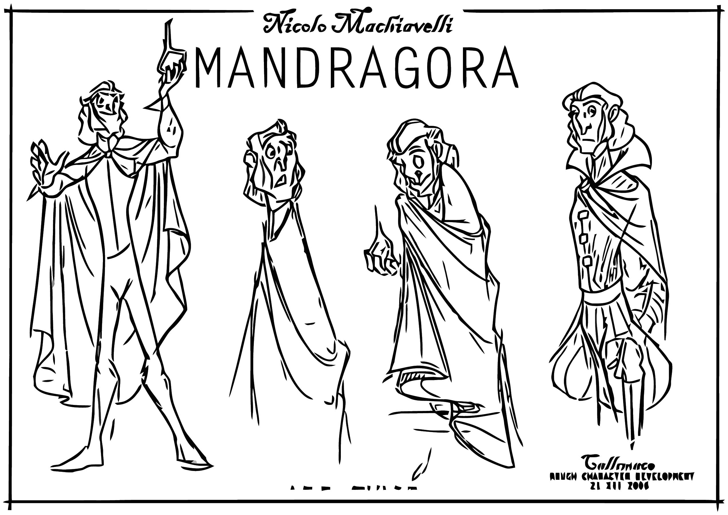 Mand Callimaco Development 01 Ch Cartoonize Coloring Page ...