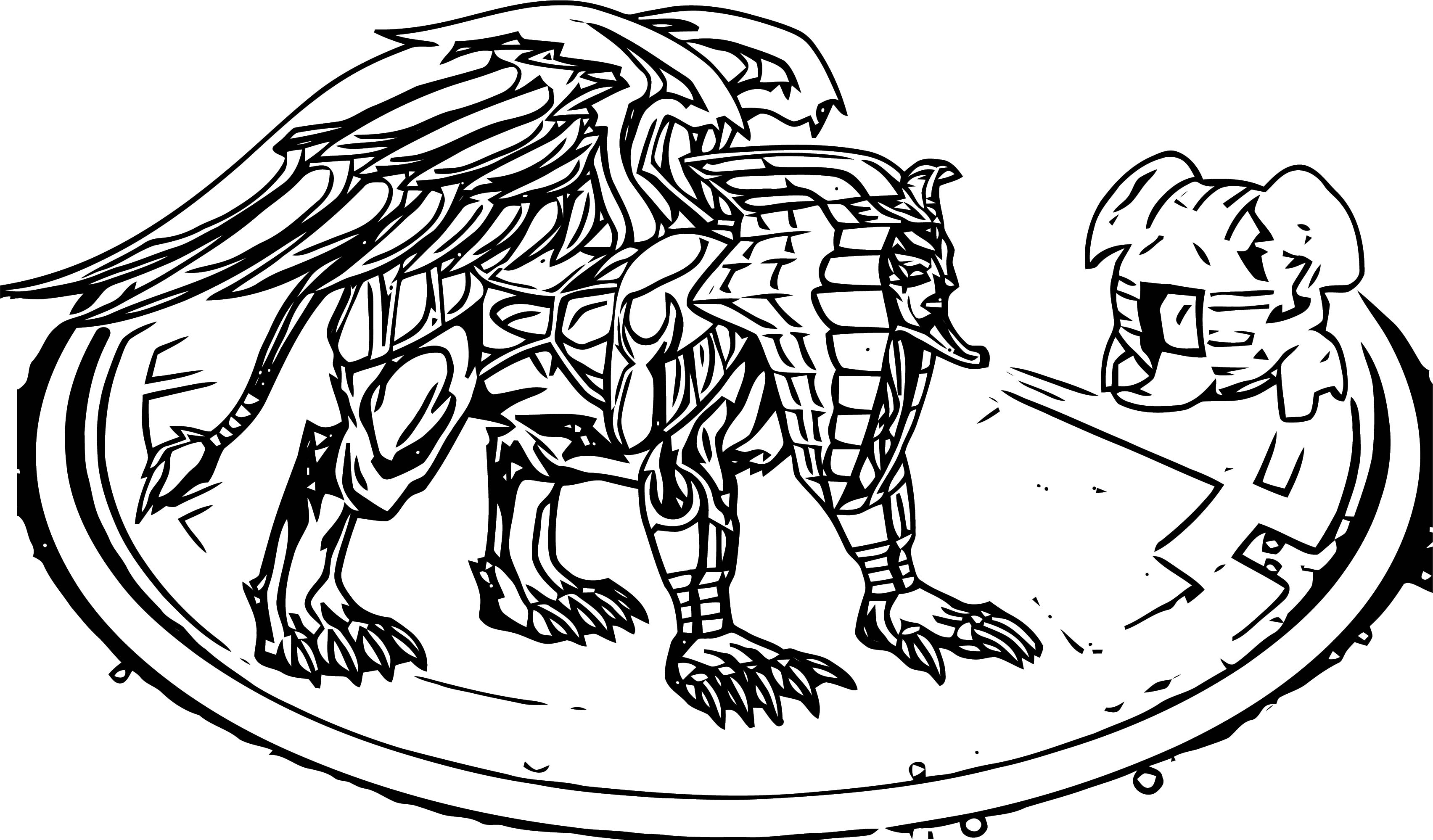 Manion Coloring Page