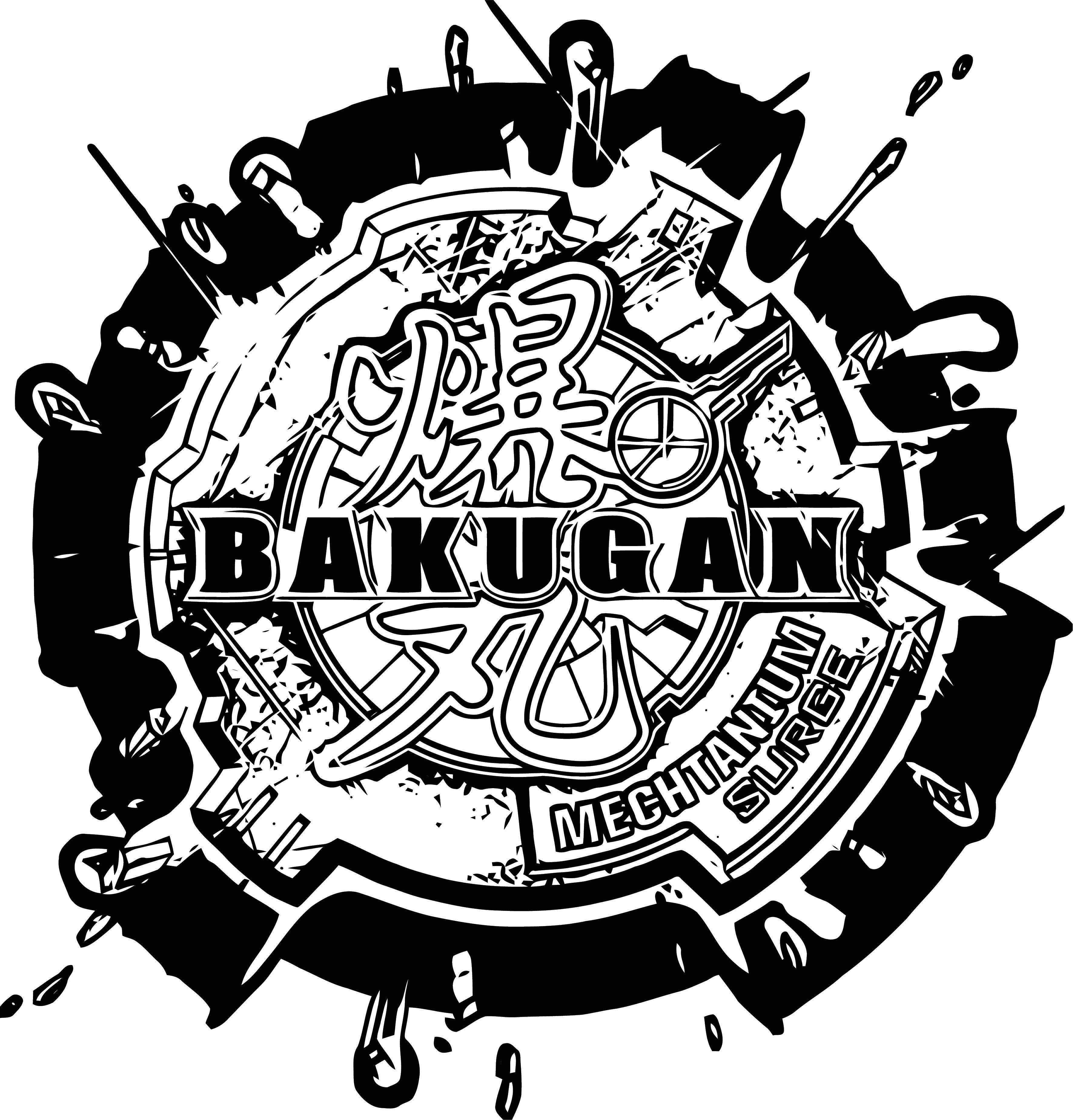 Mechtanium Surge Logo Coloring Page Coloring Page