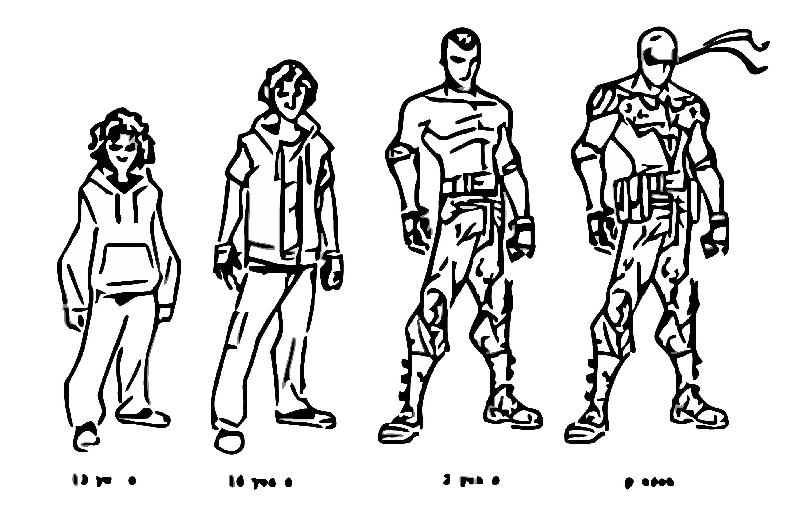 Nightrunner Character Design Trevormc112 D34l8lt Cartoonize Coloring Page