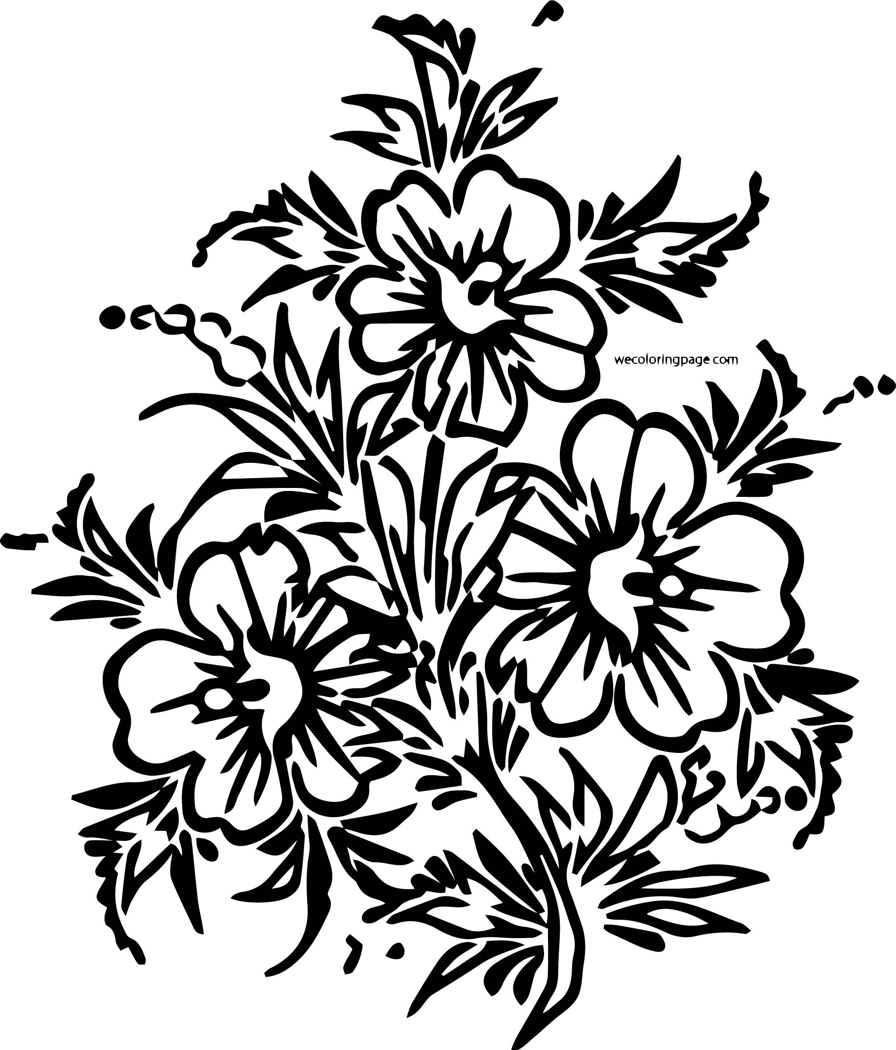 Rose Coloring Page 11