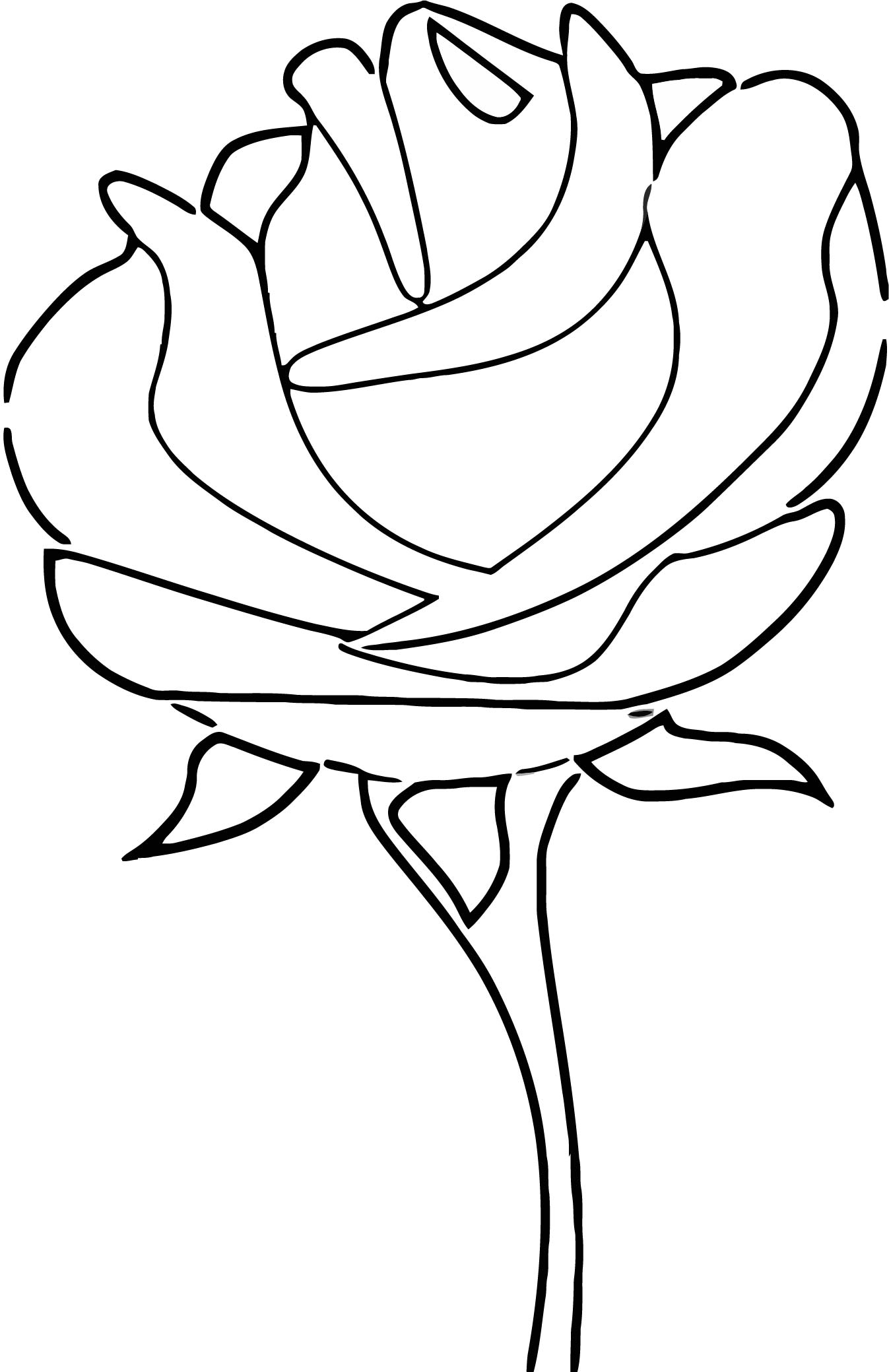 Rose Coloring Page 131