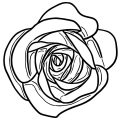 Rose Coloring Page 132