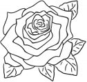 Rose Coloring Page 137