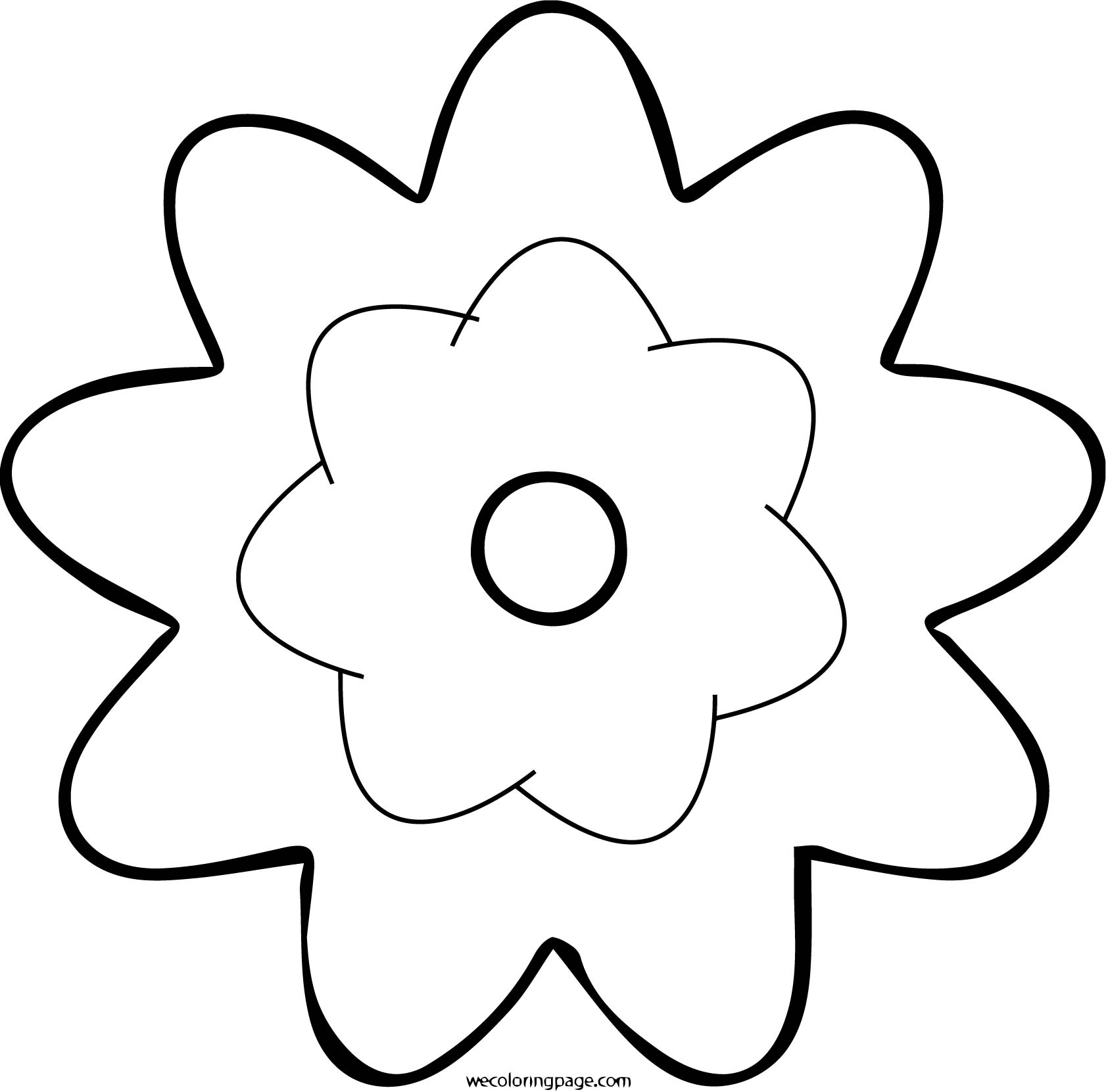 Rose Coloring Page 16