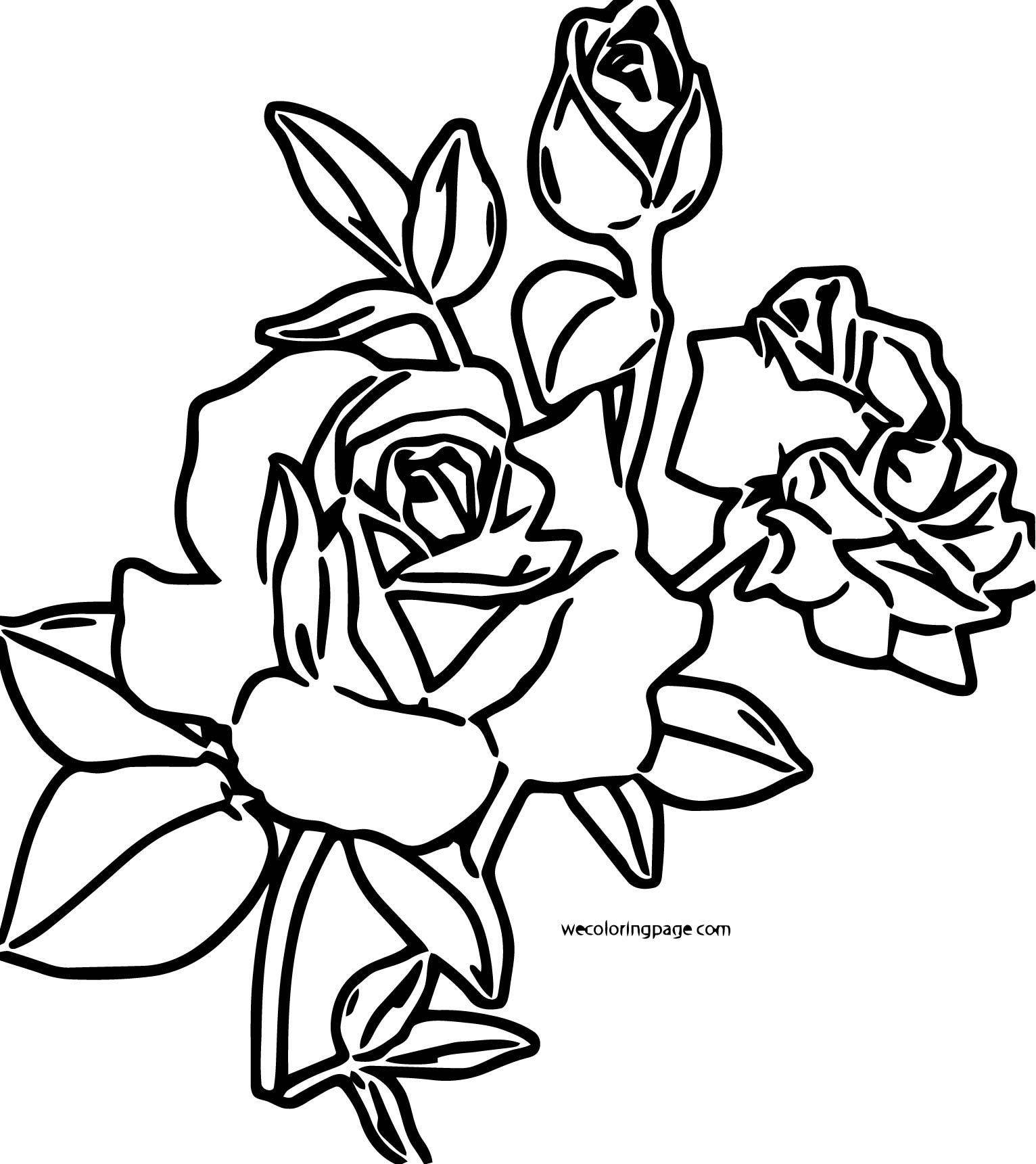 Rose Coloring Page 25