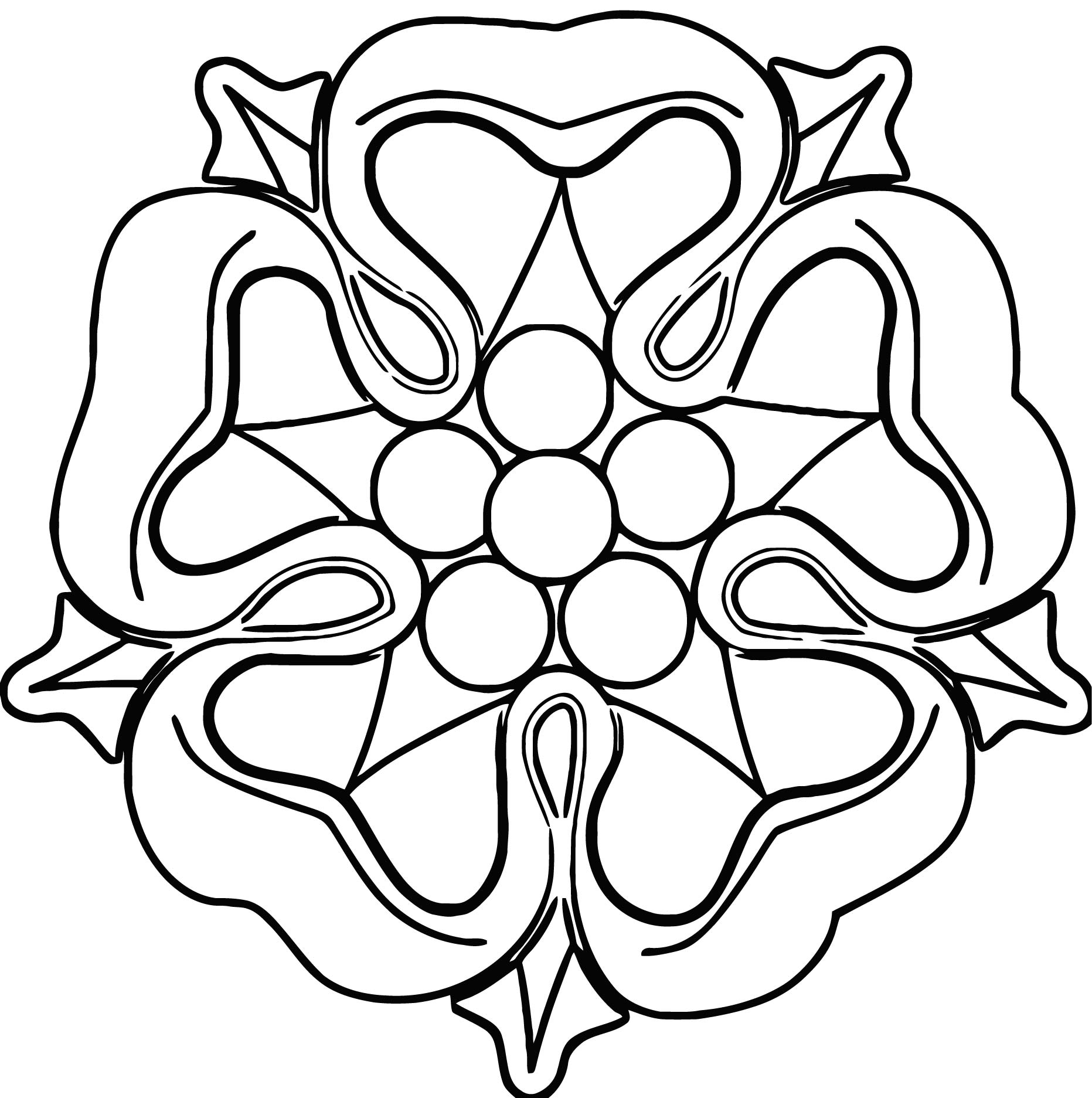 Rose File Tag List Rose Clip Arts File Coloring Page 2