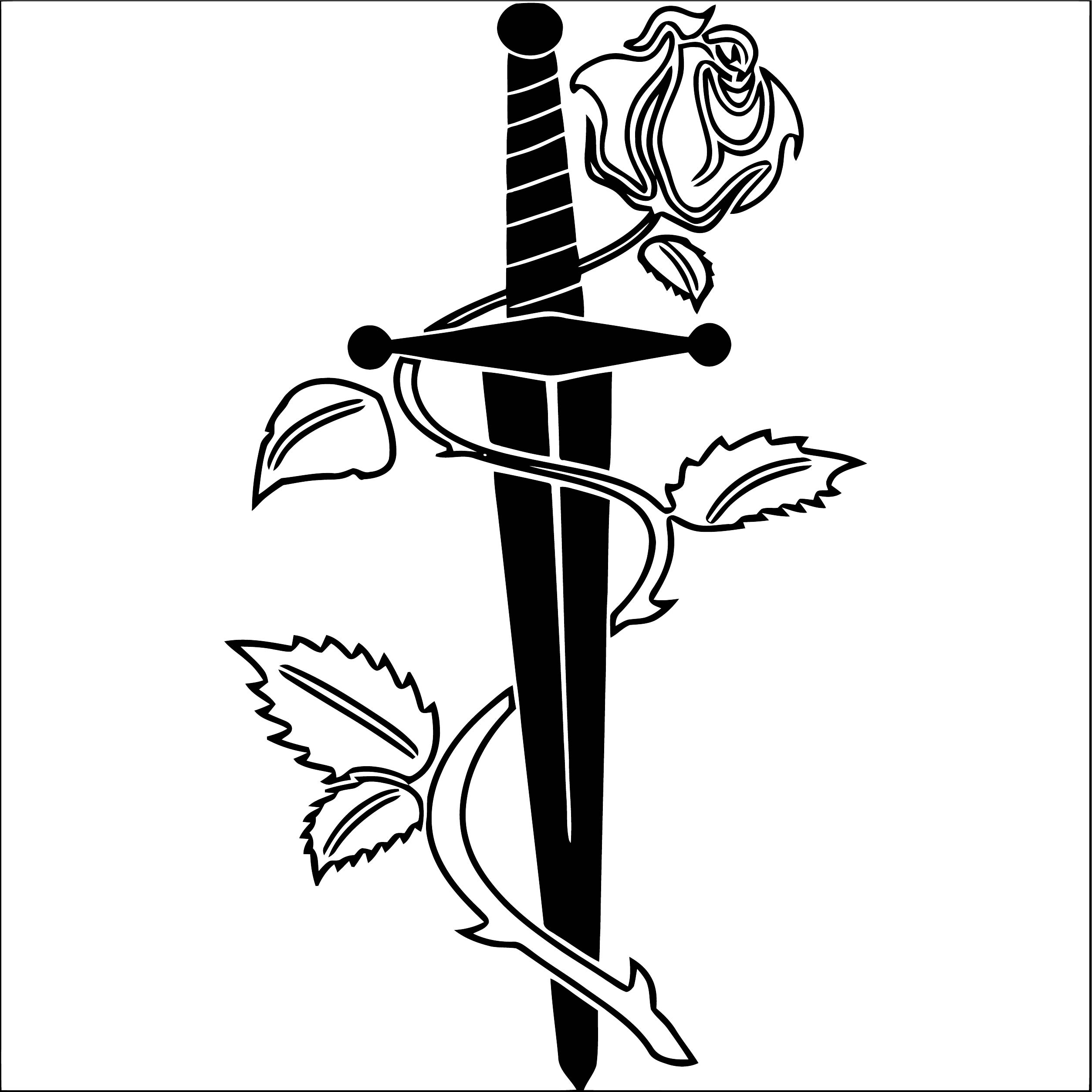 Rose Flower Coloring Page 050