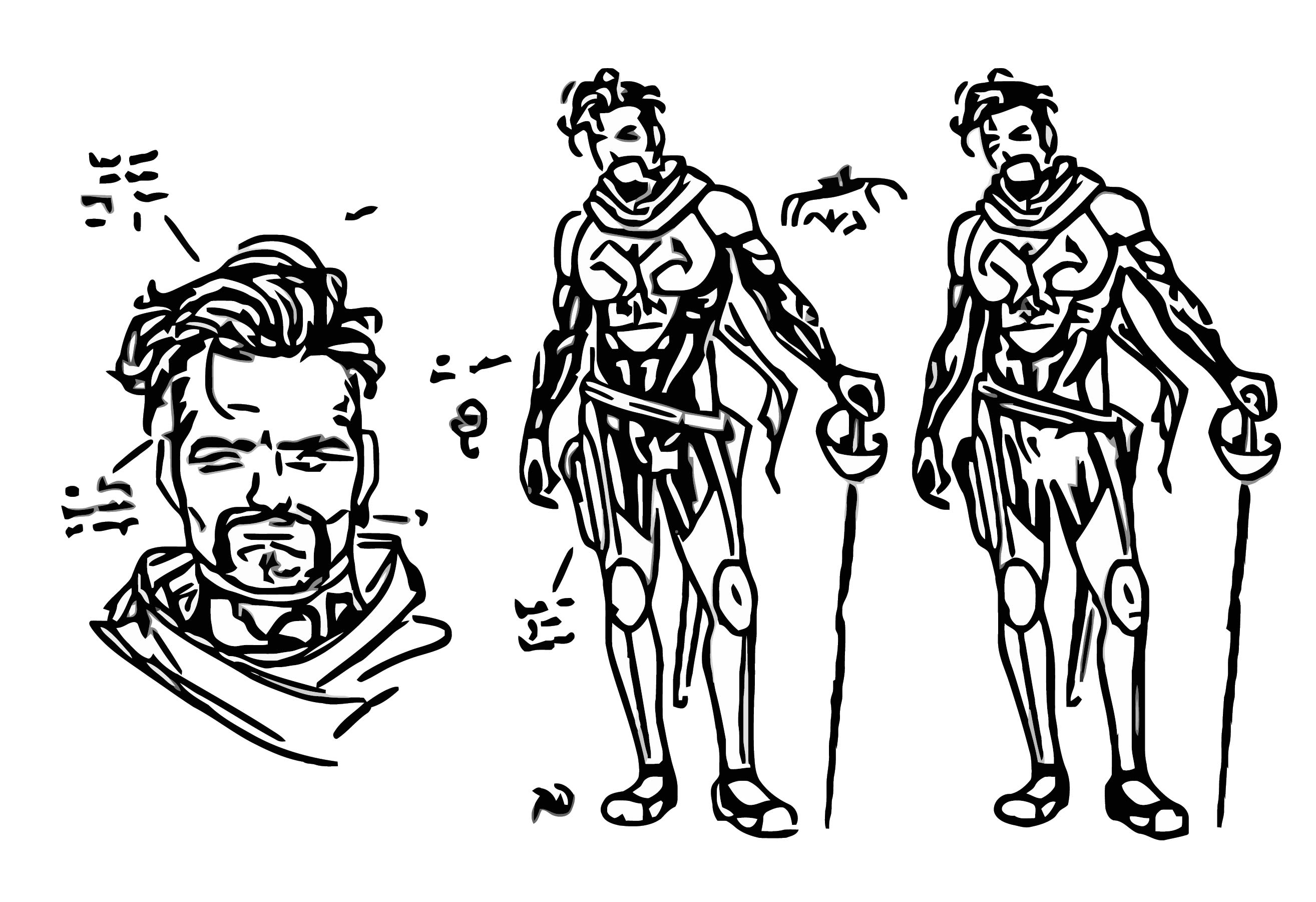 Russell Dauterman Cyclops Character Design Corsair Cartoonize Coloring Page