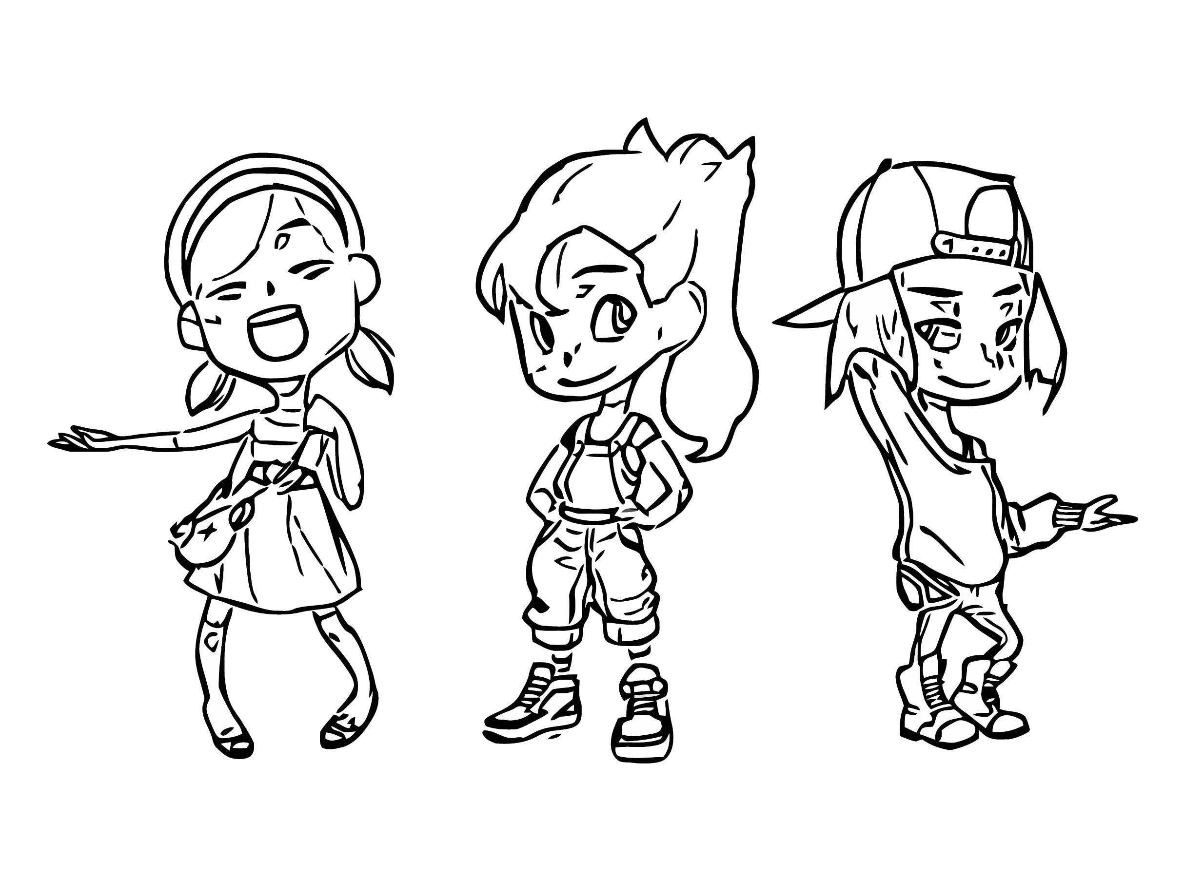 Russell Del Socorro Powerpuffgirls Cartoonize Coloring Page