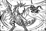 Ultra Dragonoid Coloring Page