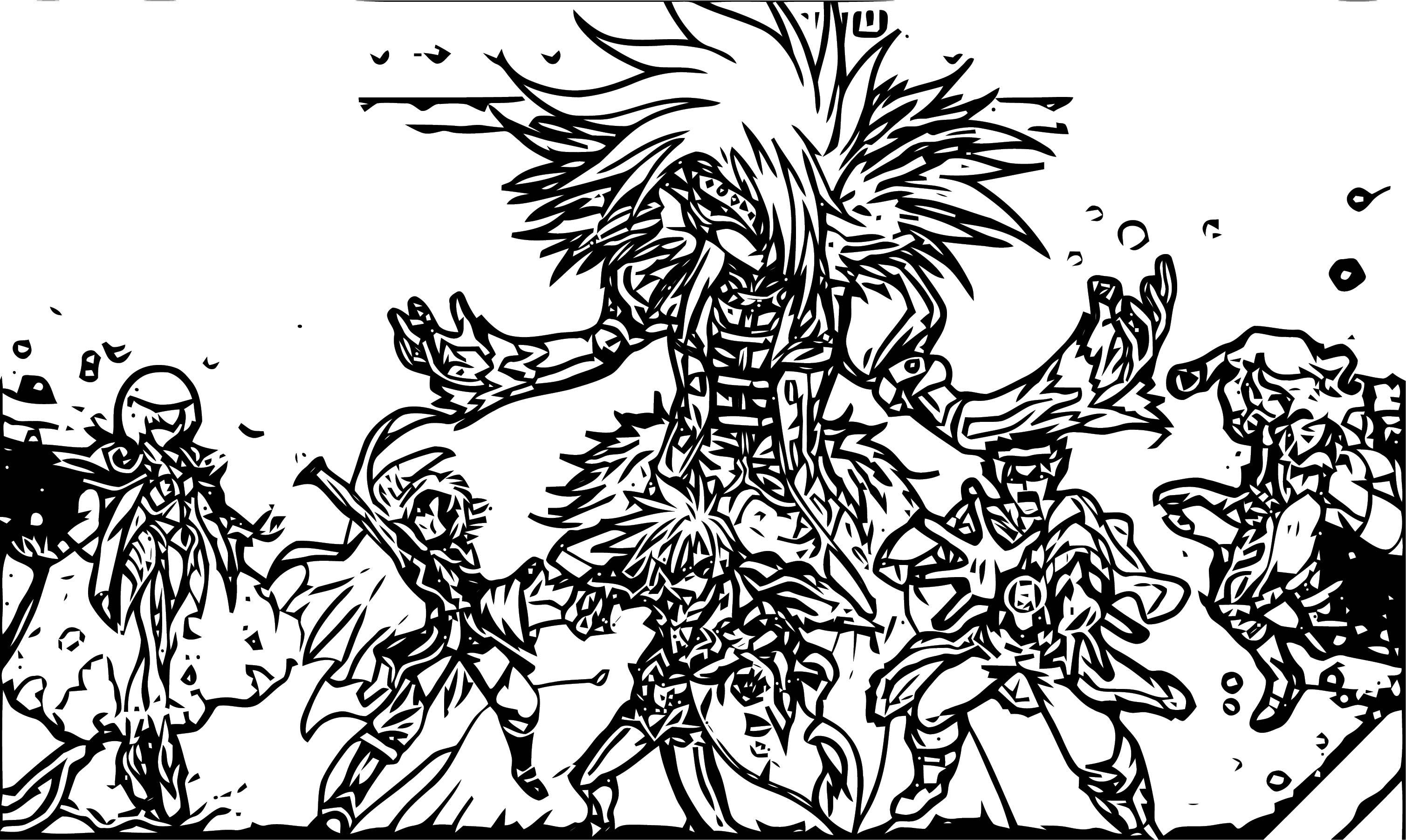 Vexos Bakugan New Vestroia Coloring Page