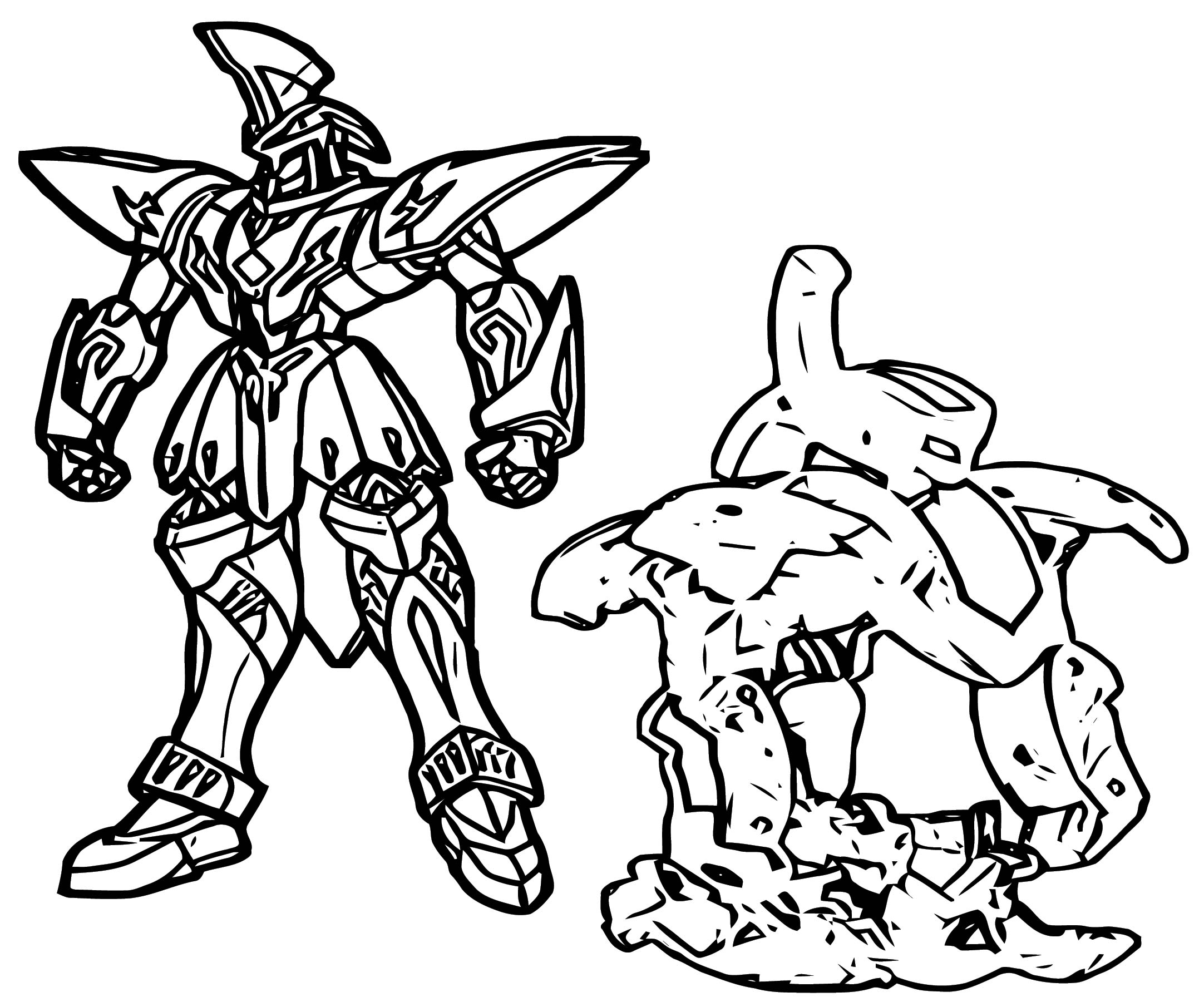 Wolfurio Coloring Page
