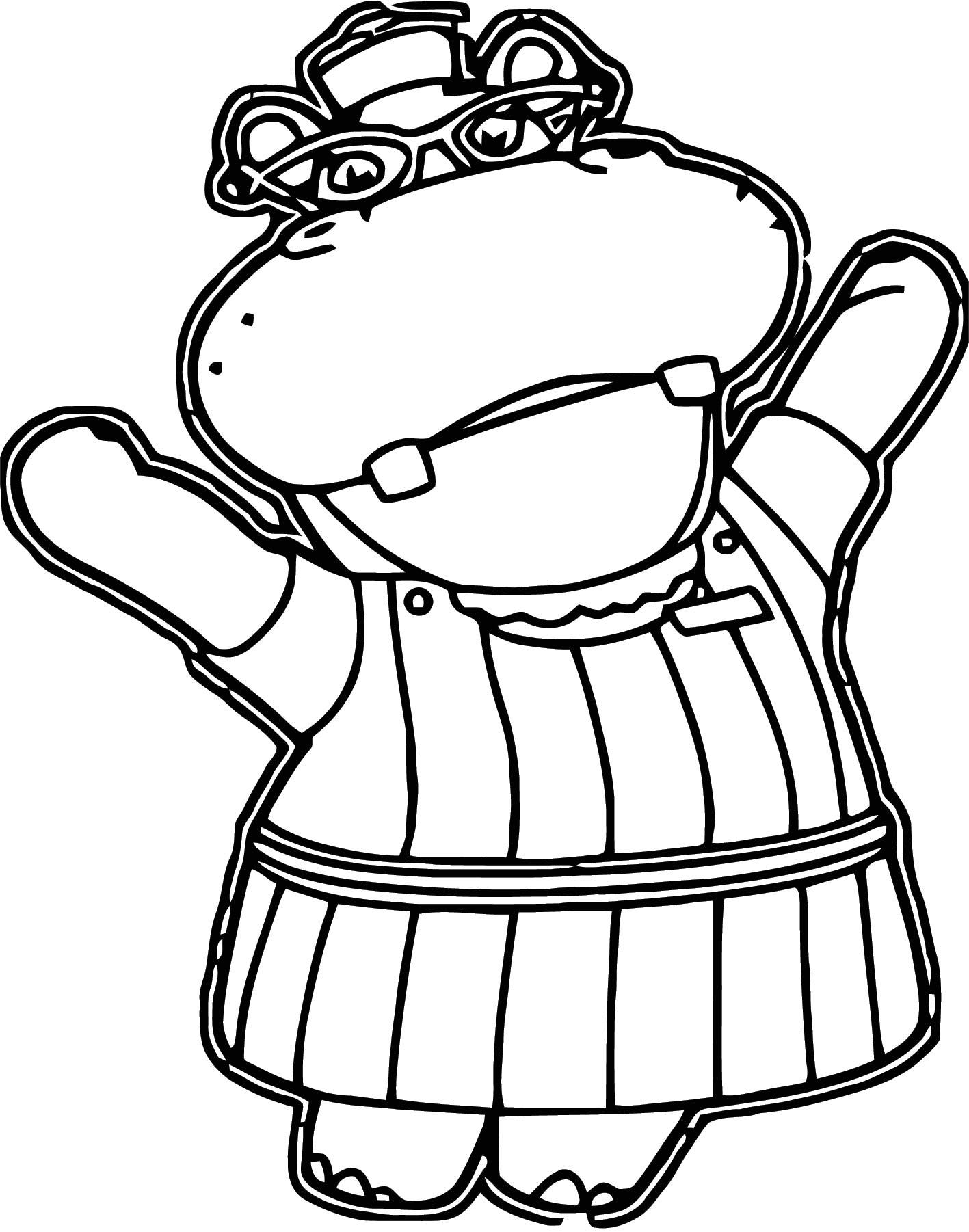 hallie cartoon joy colorin page