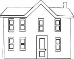 house coloring page wecoloringpage 14
