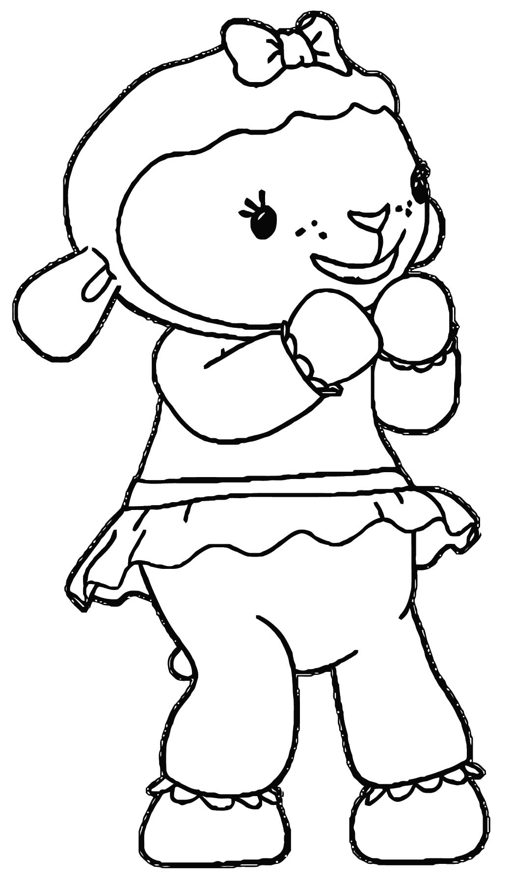 lambie 2 coloring page