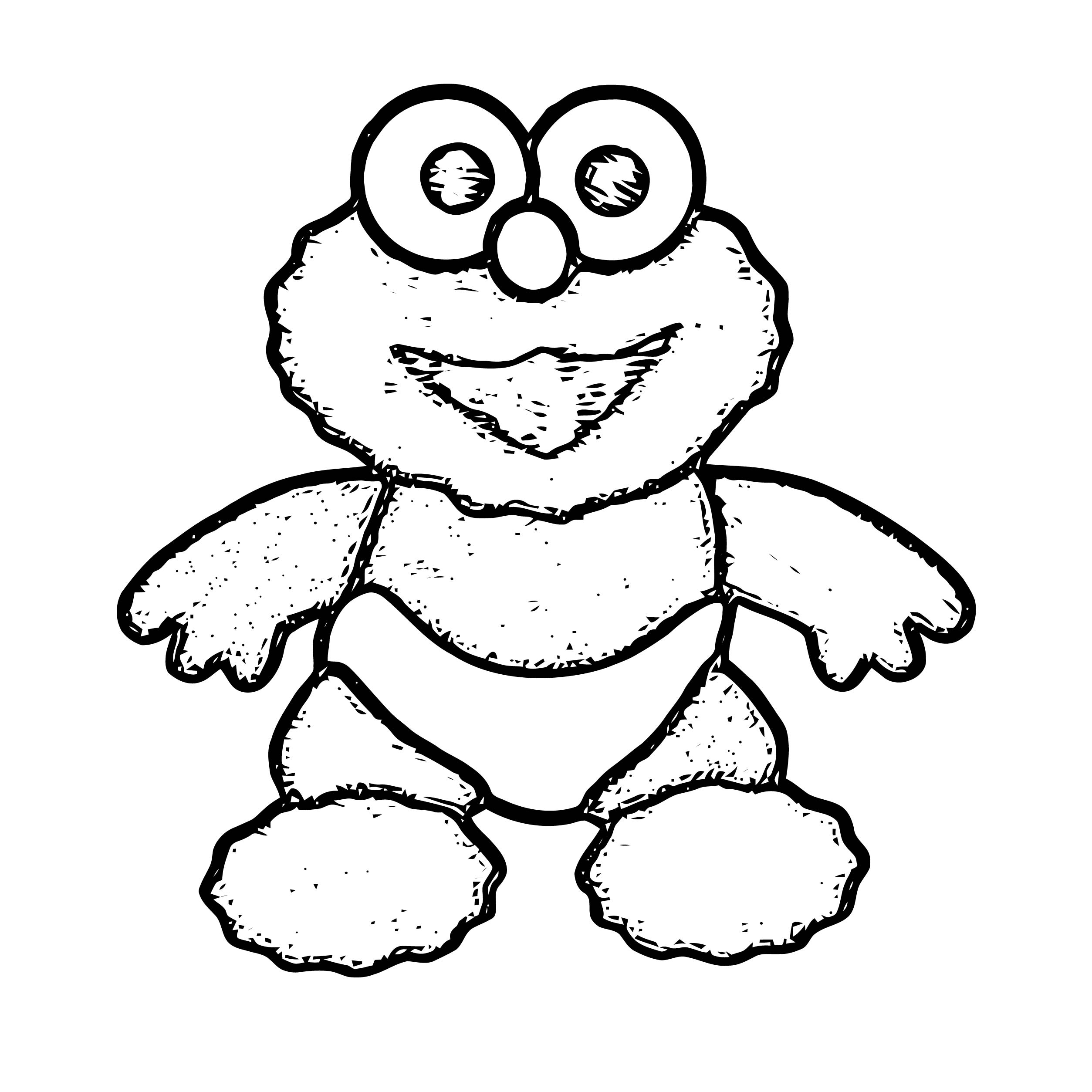 coloring pages of baby elmo | Baby Elmo Coloring Page | Wecoloringpage.com