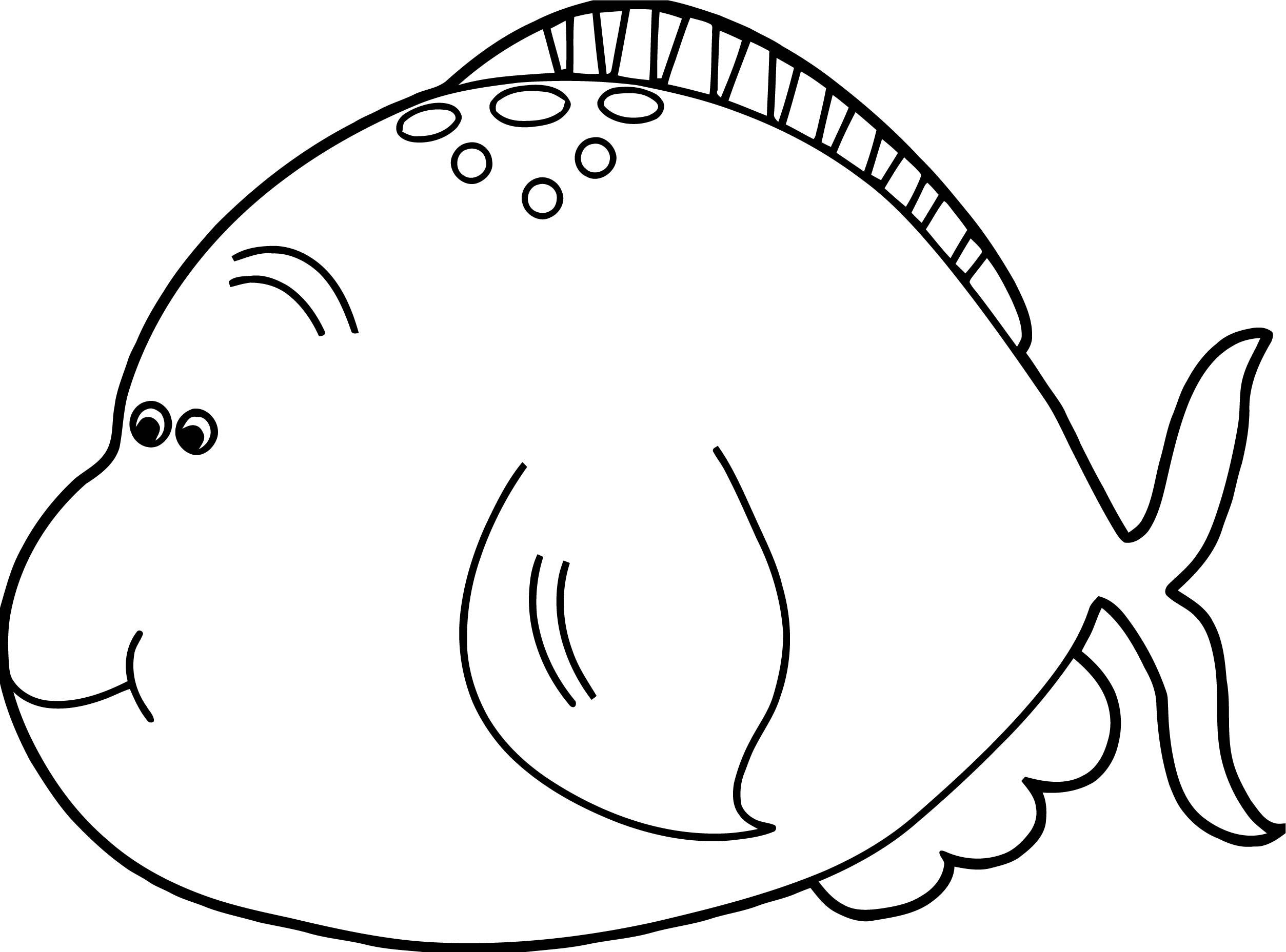 Fish Coloring Page WeColoringPage 096